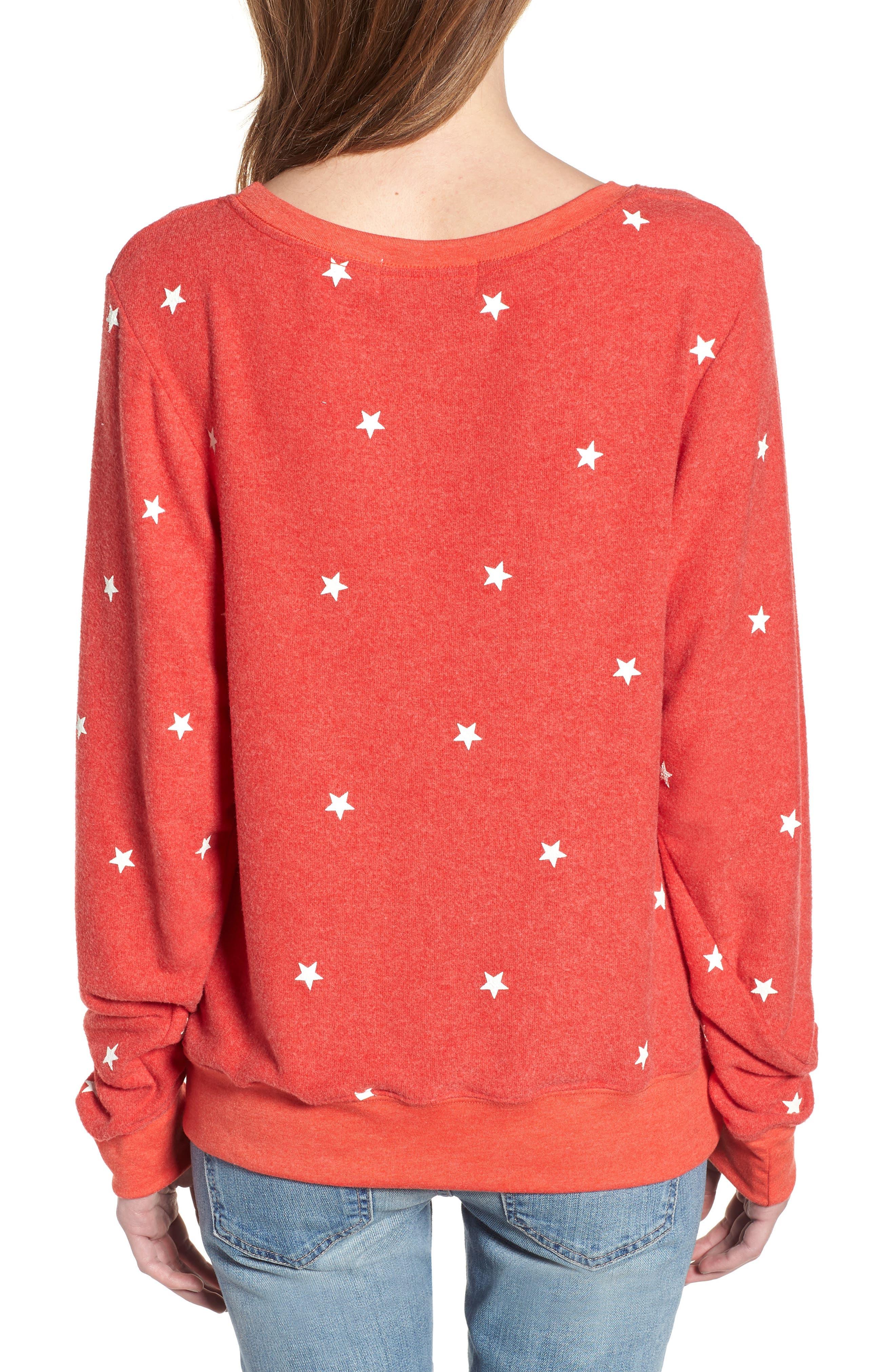 Star Baggy Beach Pullover,                             Alternate thumbnail 2, color,                             600