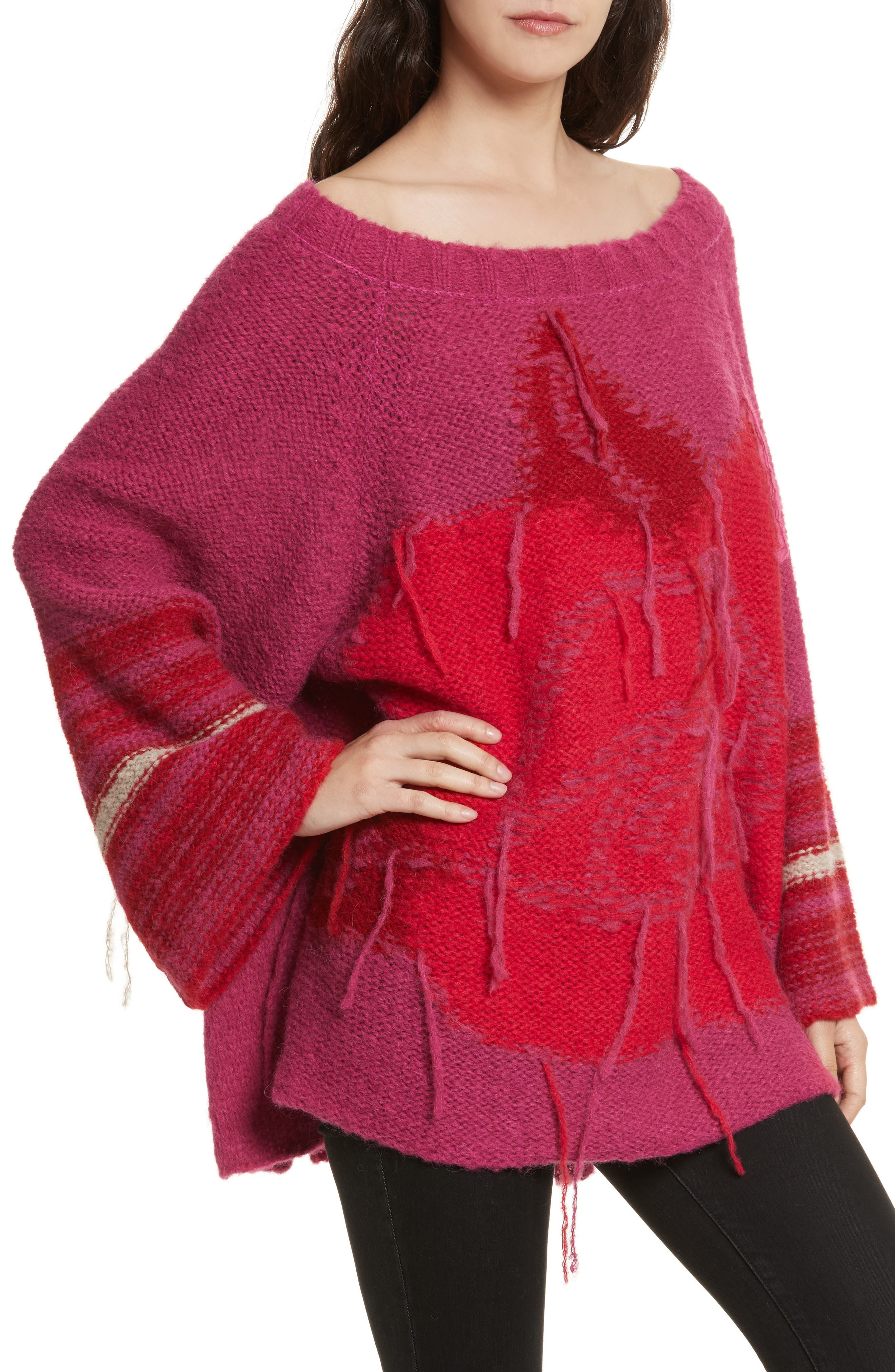Last Rose Sweater,                             Alternate thumbnail 4, color,                             650