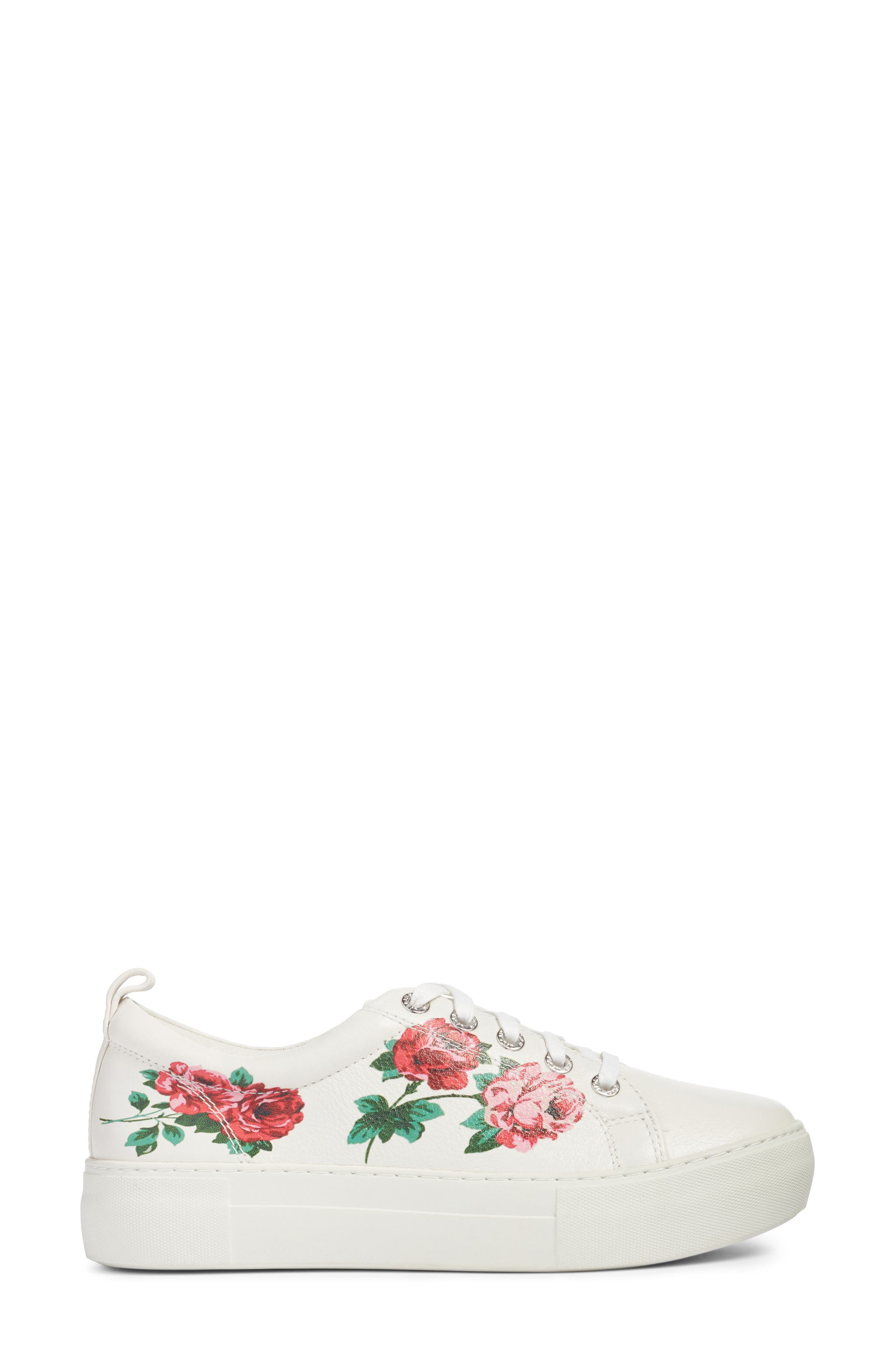 Adel Floral Sneaker,                             Alternate thumbnail 8, color,