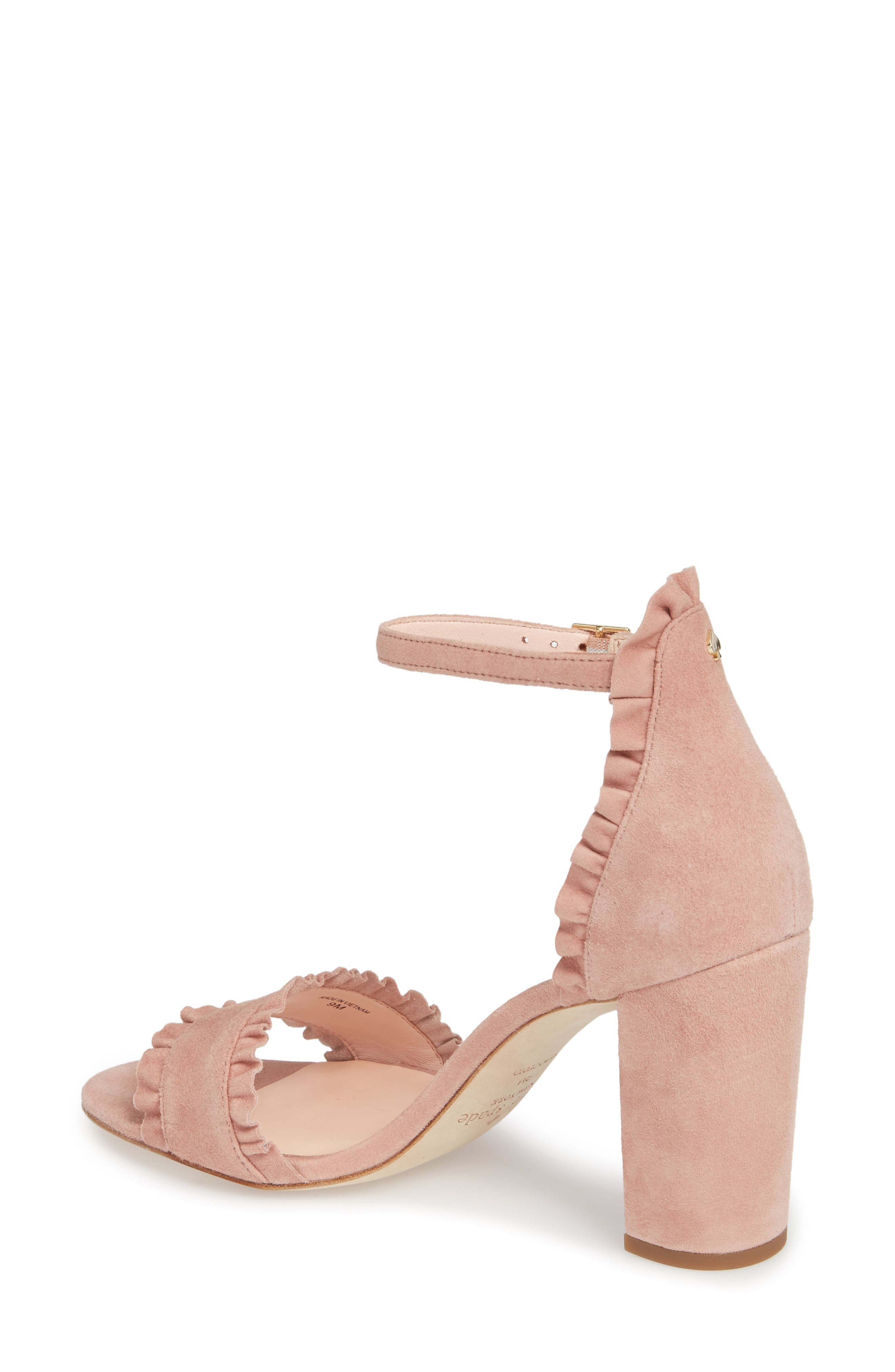 odele ruffle sandal,                             Alternate thumbnail 4, color,