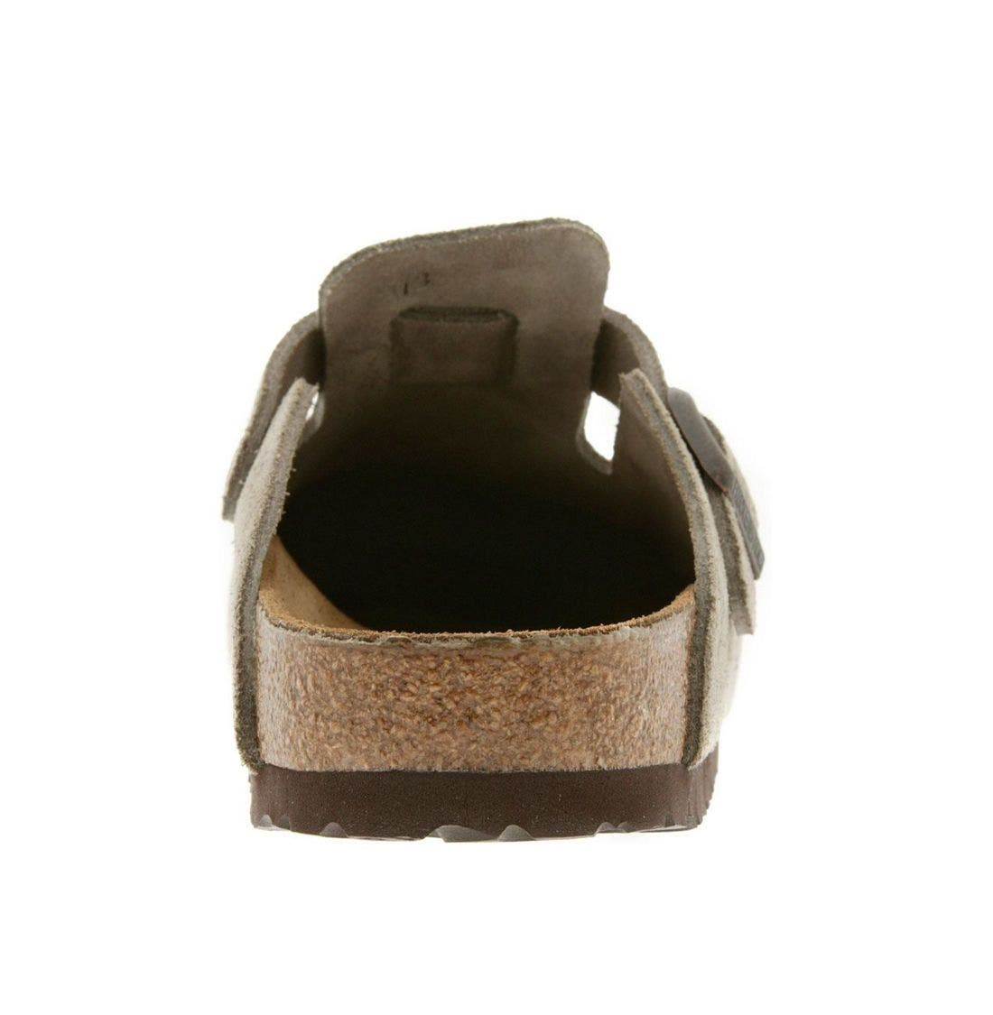 'Boston' Classic Oiled Leather Clog,                             Alternate thumbnail 36, color,