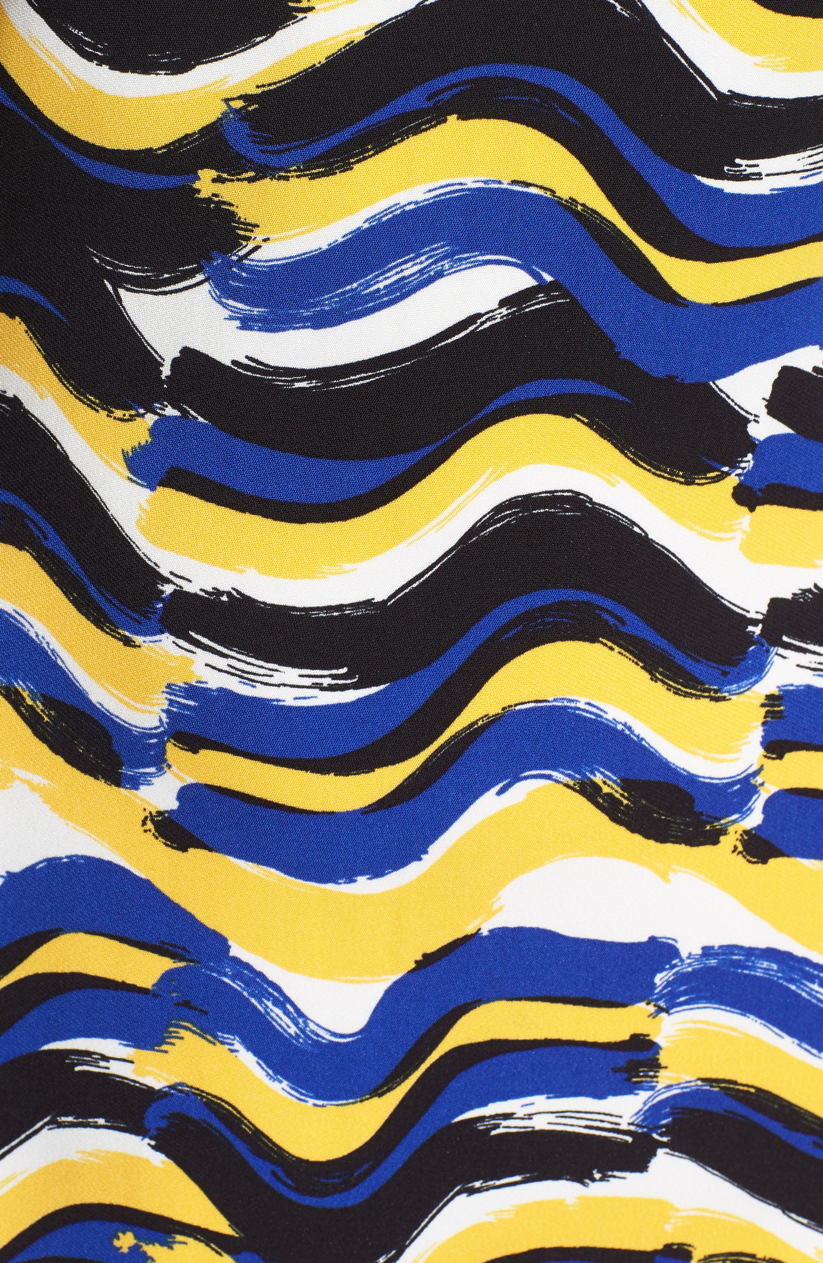 BOSS,                             Dashiba Color Waves Dress,                             Alternate thumbnail 6, color,                             782