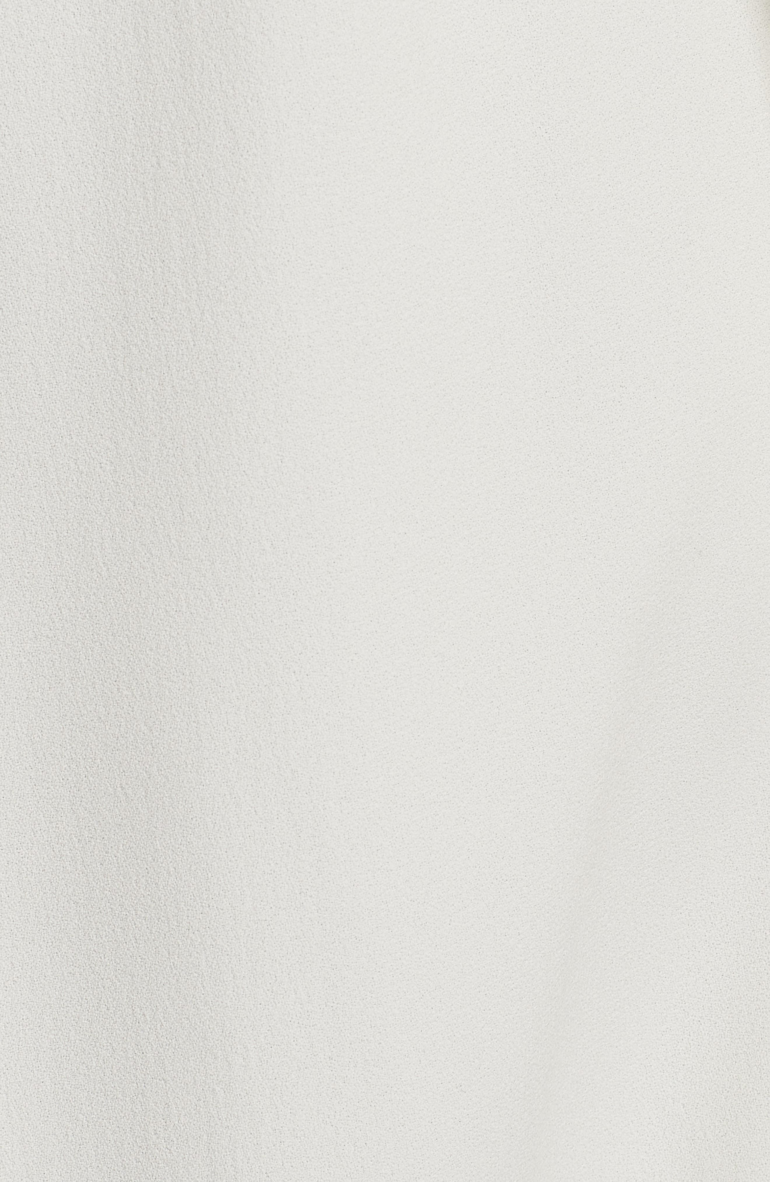 Oaklane Rosina Crepe Trench Coat,                             Alternate thumbnail 6, color,