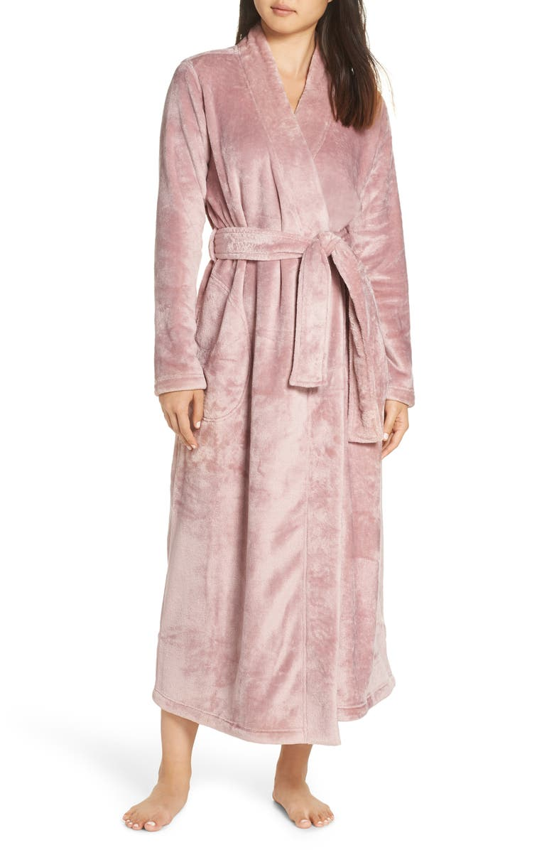 Ugg Marlow Double-Face Fleece Robe In Dusk  cb7e21385
