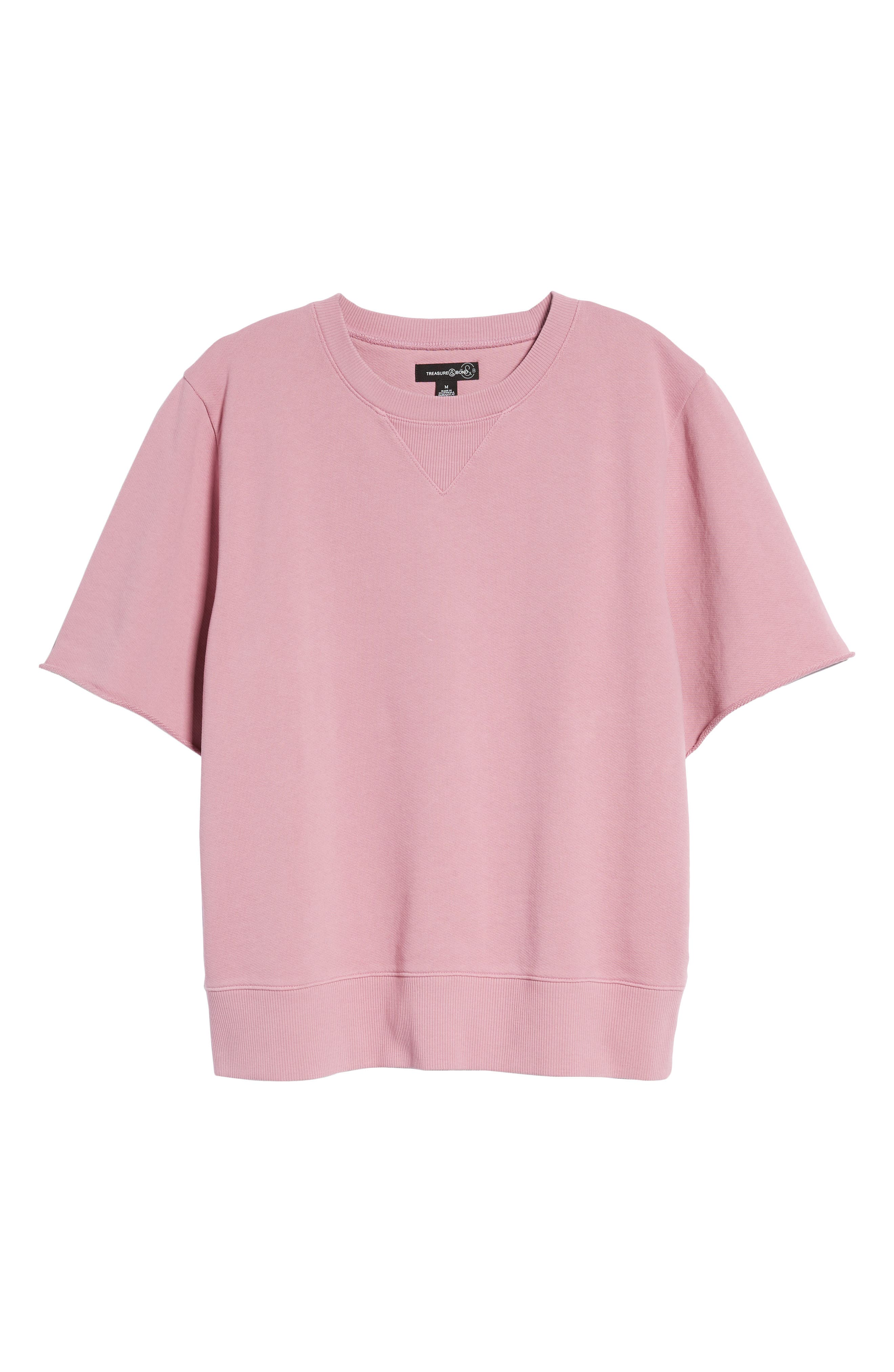 Cotton Terry Sweatshirt,                             Alternate thumbnail 12, color,