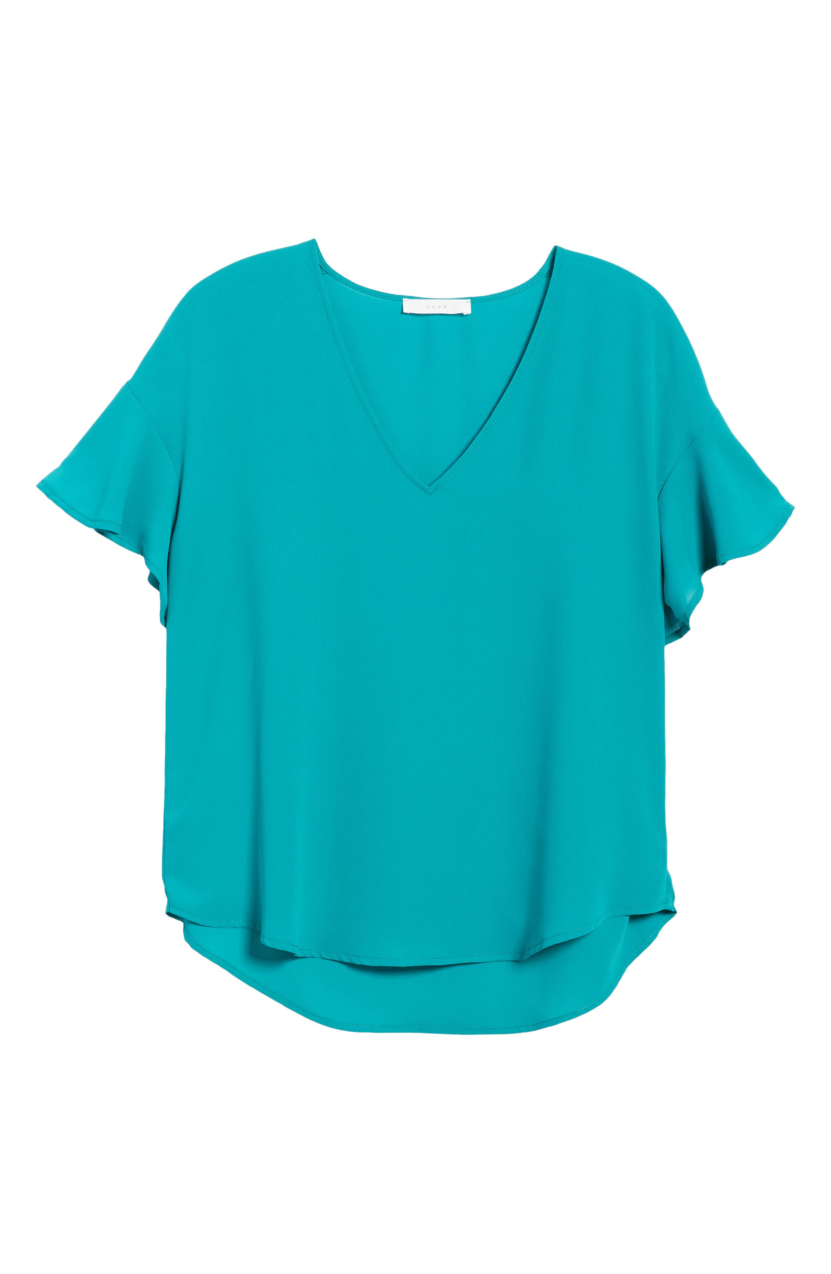 Crepe Tee,                             Alternate thumbnail 44, color,