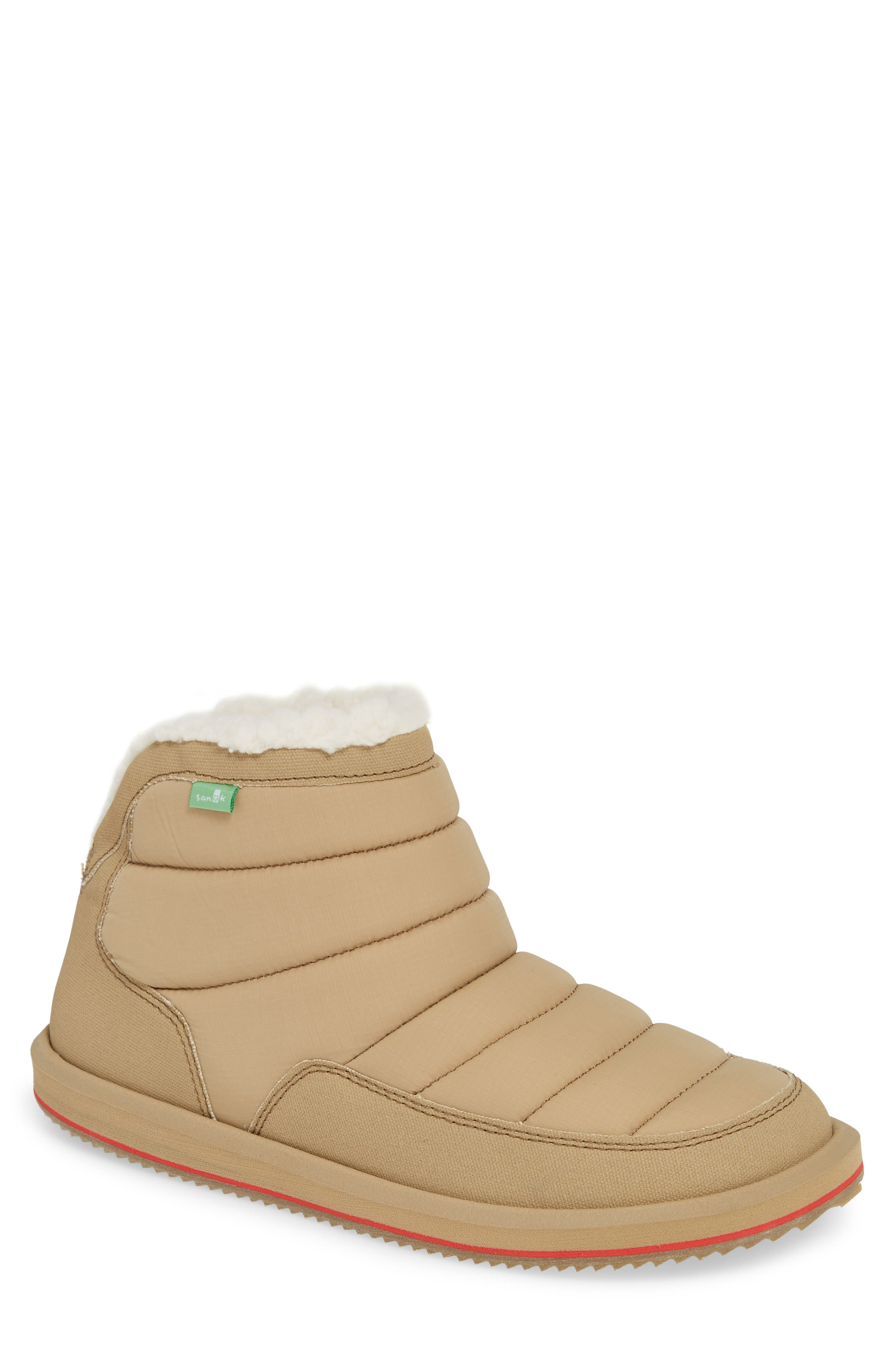 Puff & Chill Weather Boot,                         Main,                         color, TAN