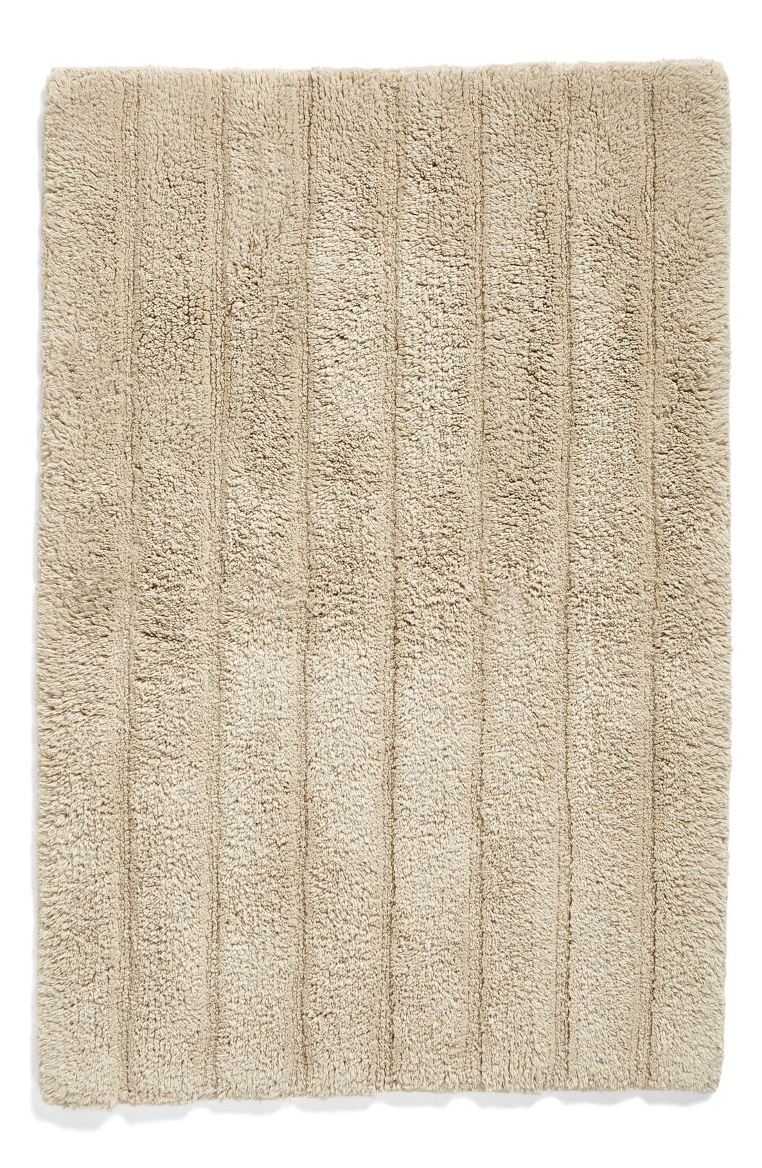 Ribbed Velour Bath Rug,                             Main thumbnail 3, color,