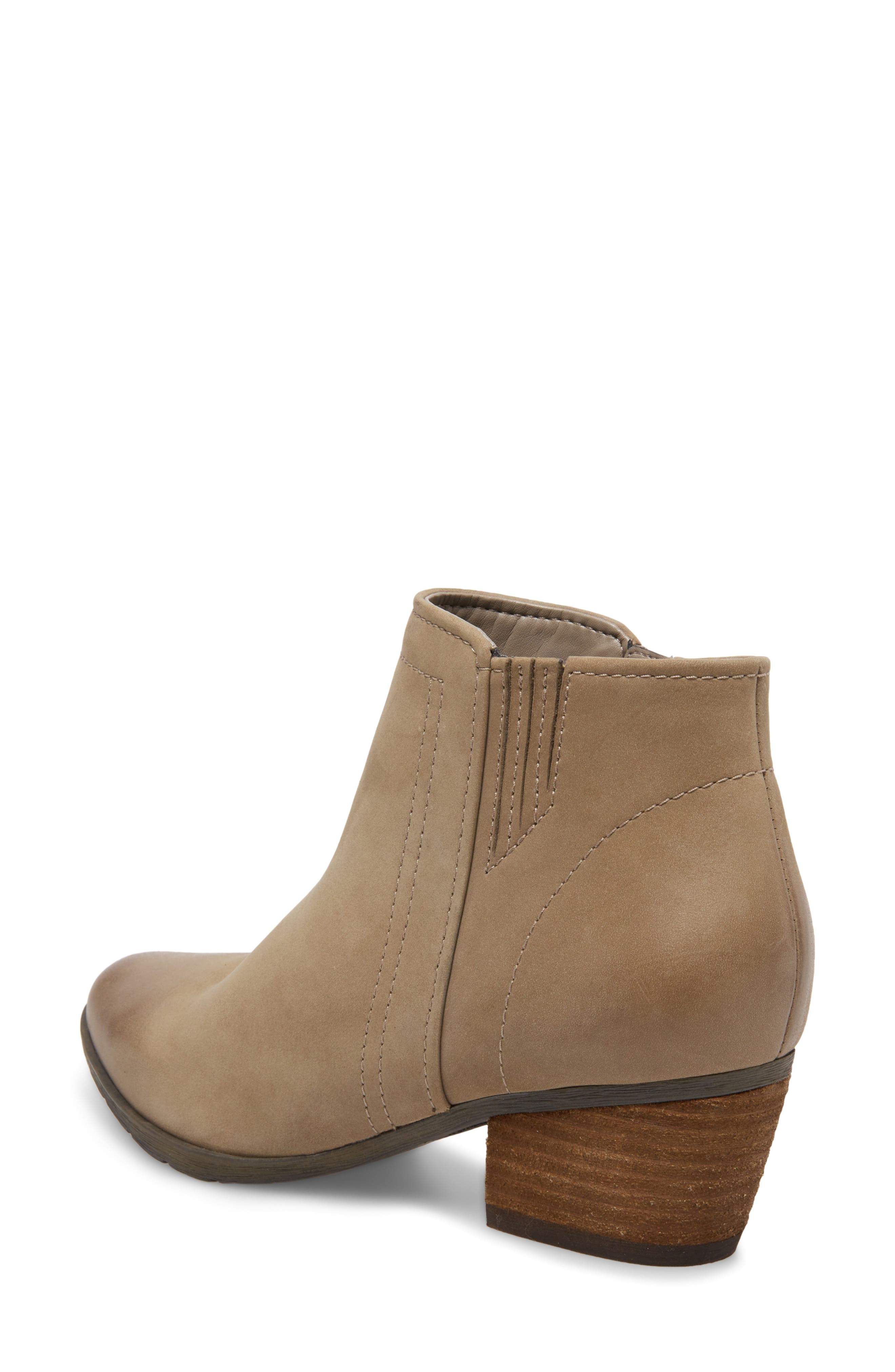 'Valli' Waterproof  Bootie,                             Alternate thumbnail 2, color,                             MUSHROOM NUBUCK