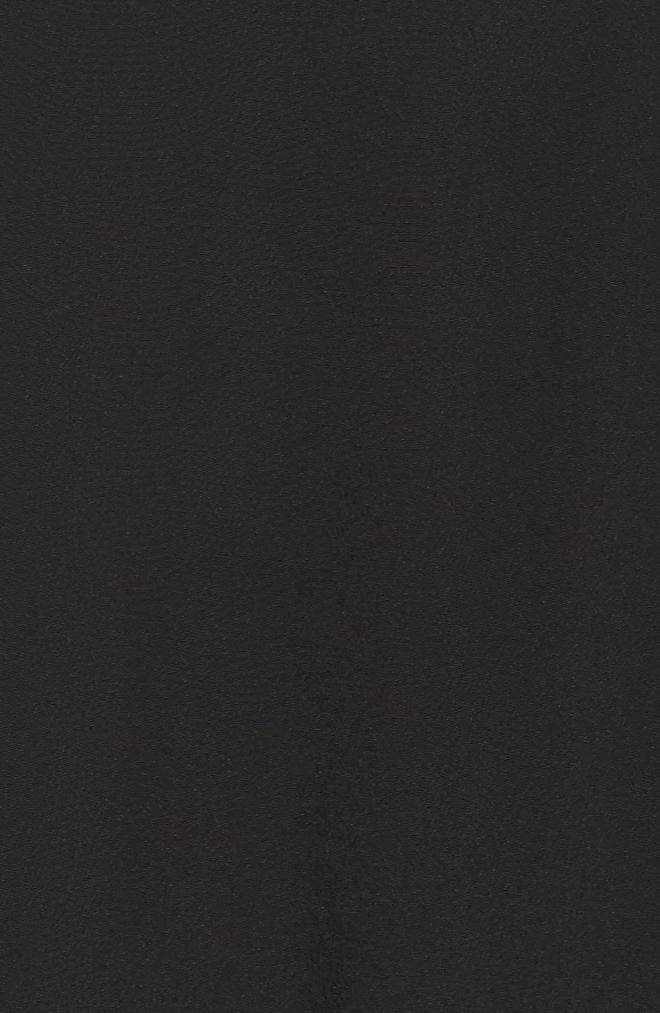 Jolie Lace Accent Cover-Up Dress,                             Alternate thumbnail 5, color,                             001