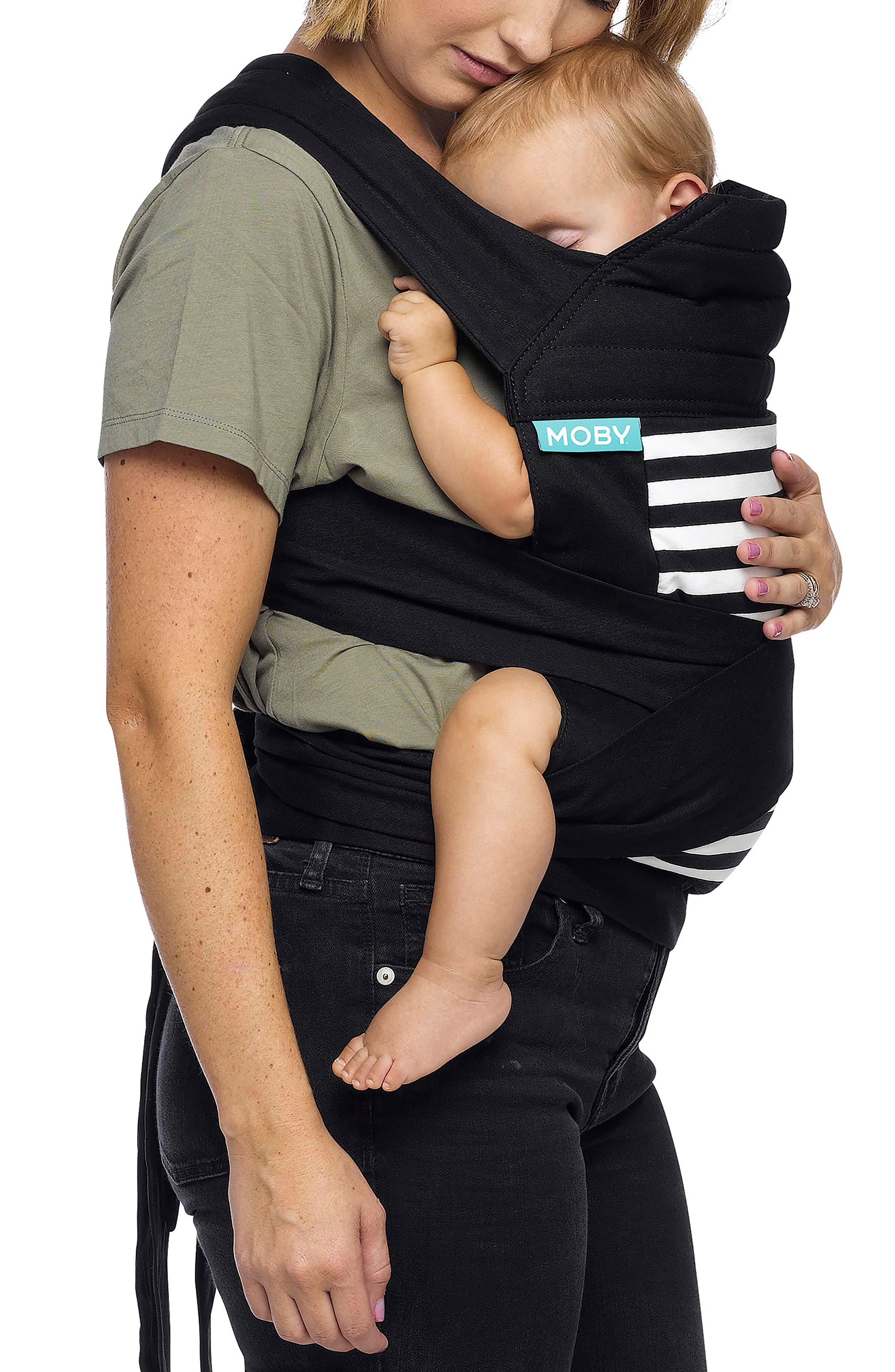 Wrap Double Tie Baby Carrier,                             Alternate thumbnail 2, color,                             001