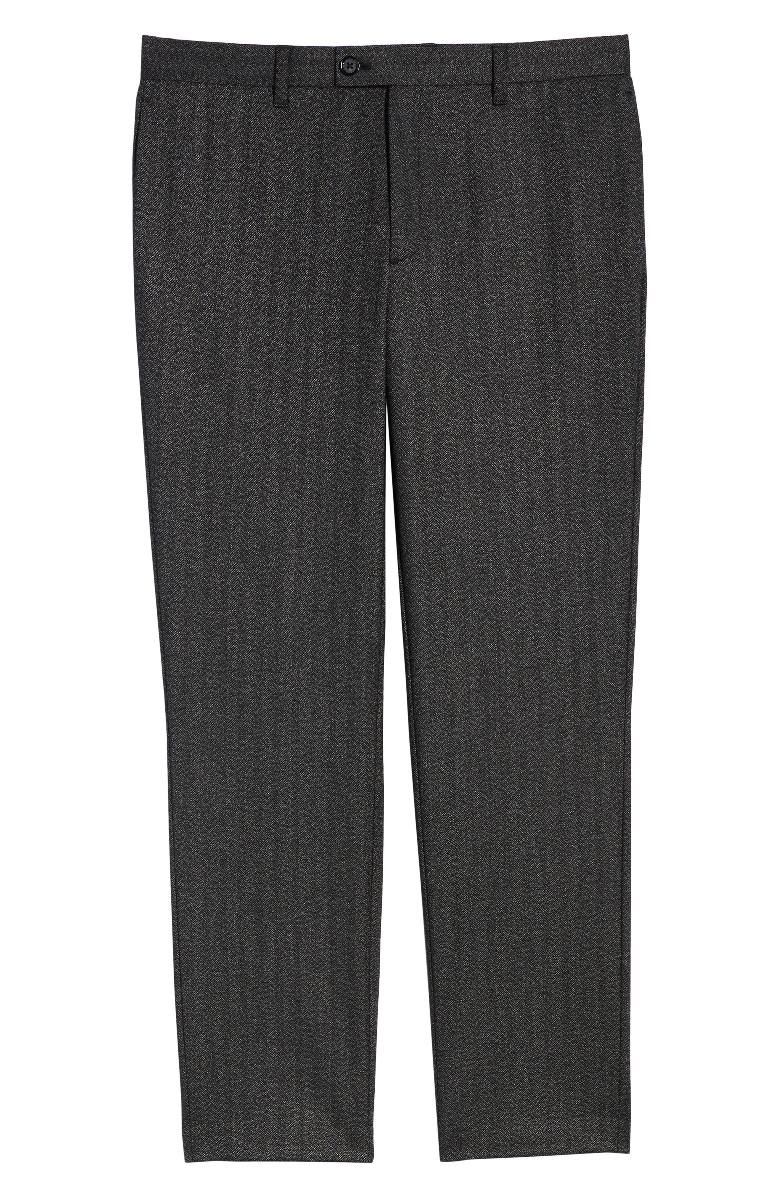 Wenstro Classic Fit Trousers,                             Alternate thumbnail 6, color,                             020