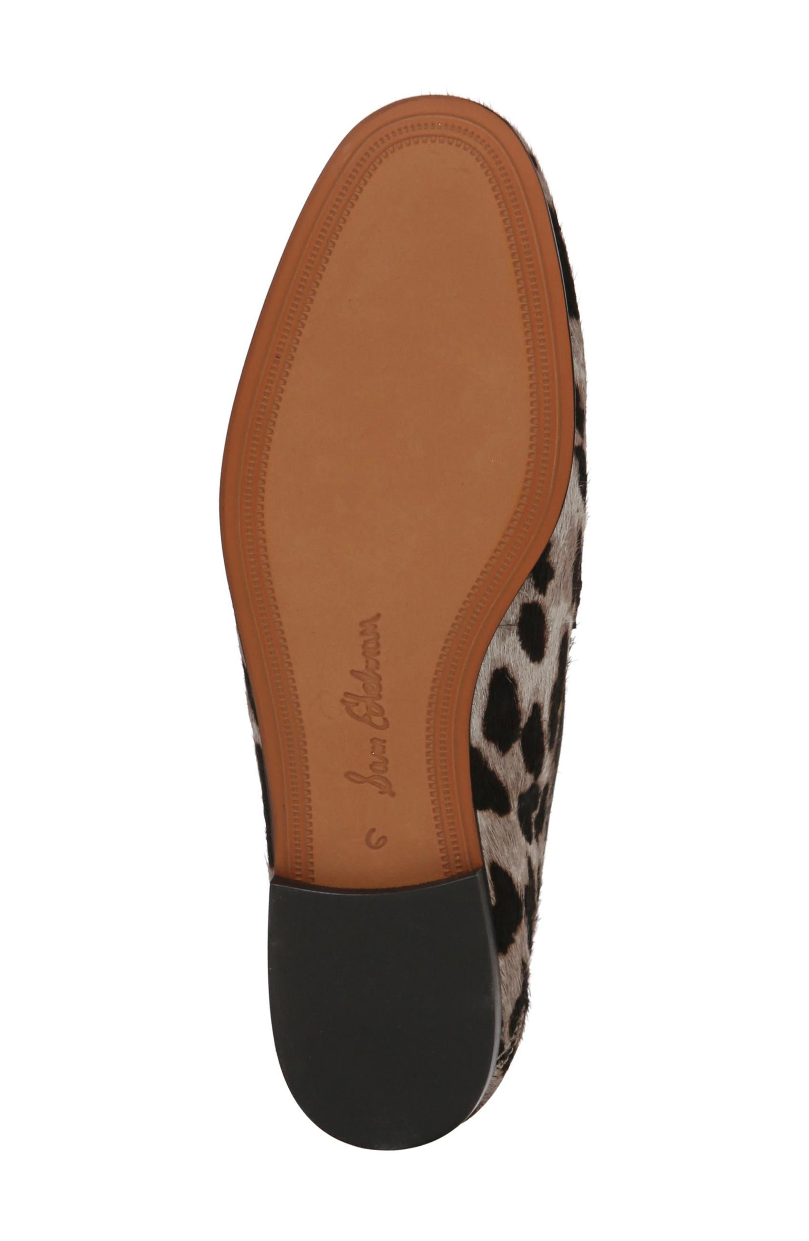 Lior Genuine Calf Hair Loafer,                             Alternate thumbnail 6, color,                             GREY MULTI LEOPARD CALF HAIR