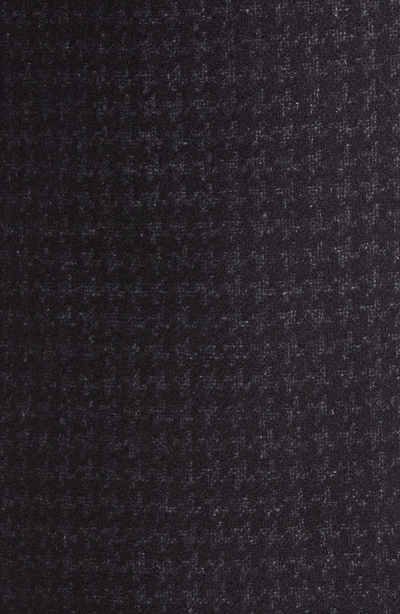 Jackson Houndstooth Wool Blend Overcoat,                             Alternate thumbnail 6, color,