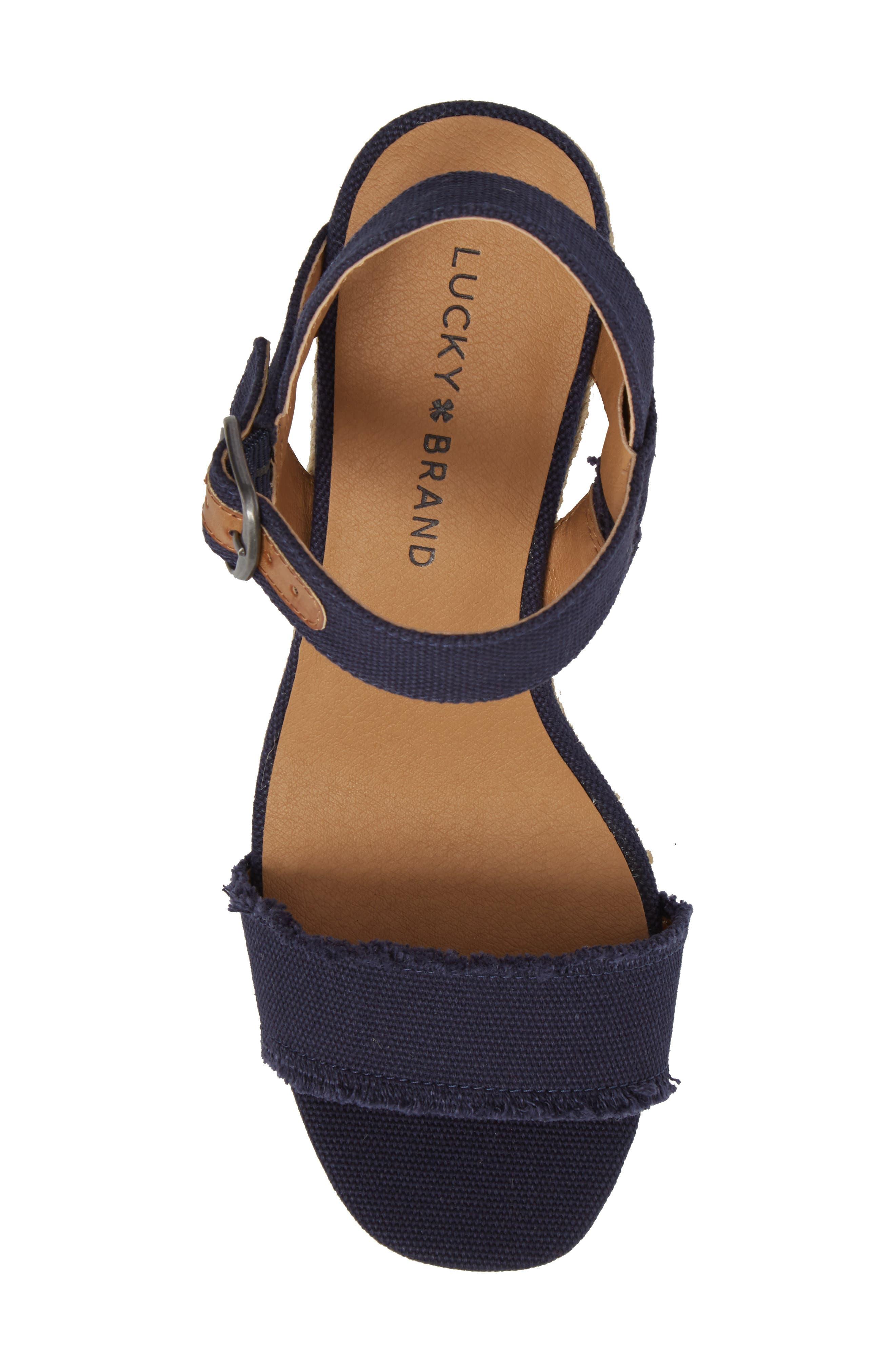 Marceline Squared Toe Wedge Sandal,                             Alternate thumbnail 32, color,