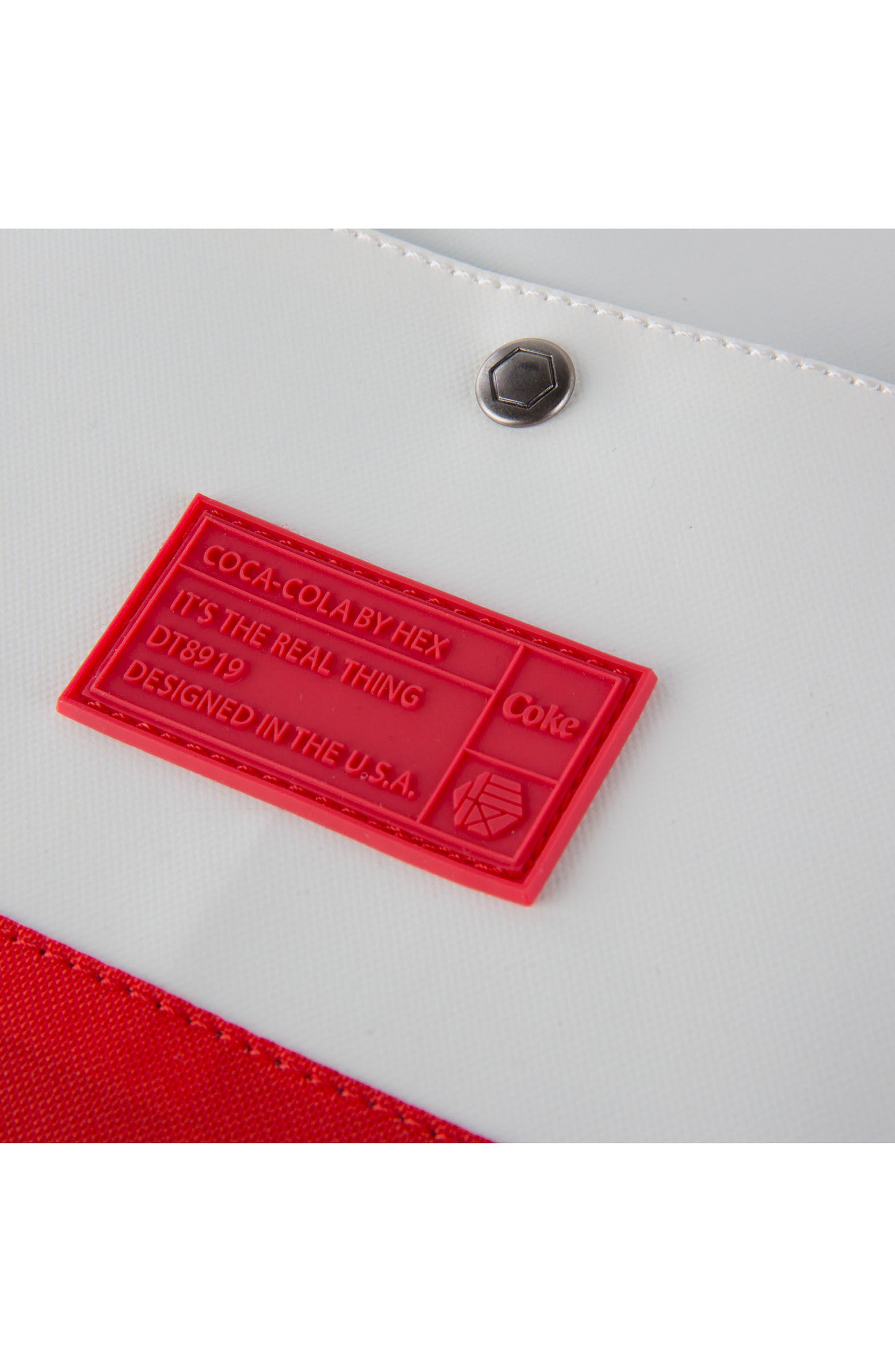 Coca Cola Sneaker Duffel Bag,                             Alternate thumbnail 6, color,                             600