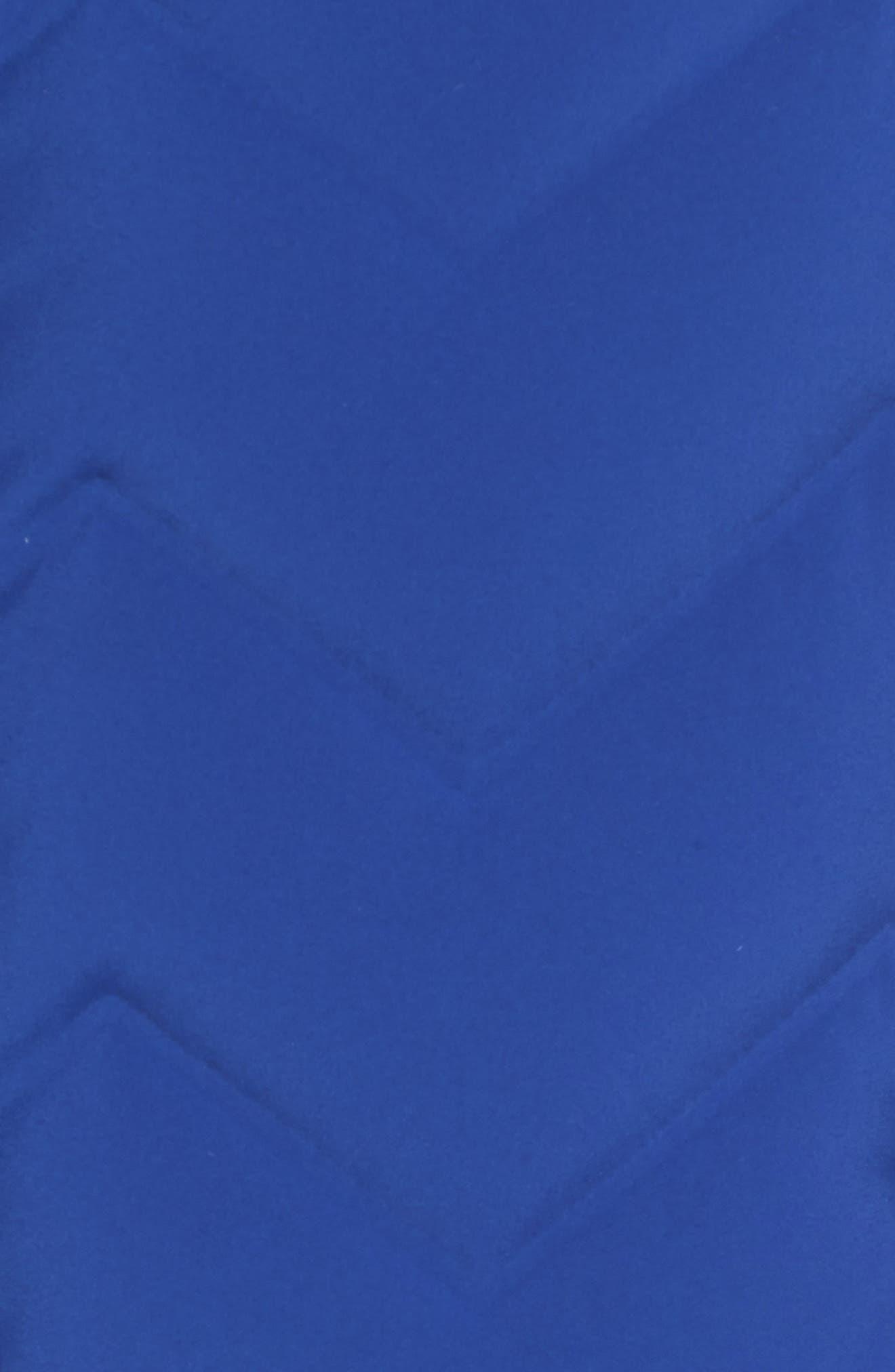 Hobart Down Vest,                             Alternate thumbnail 6, color,                             BRIGHT BLUE