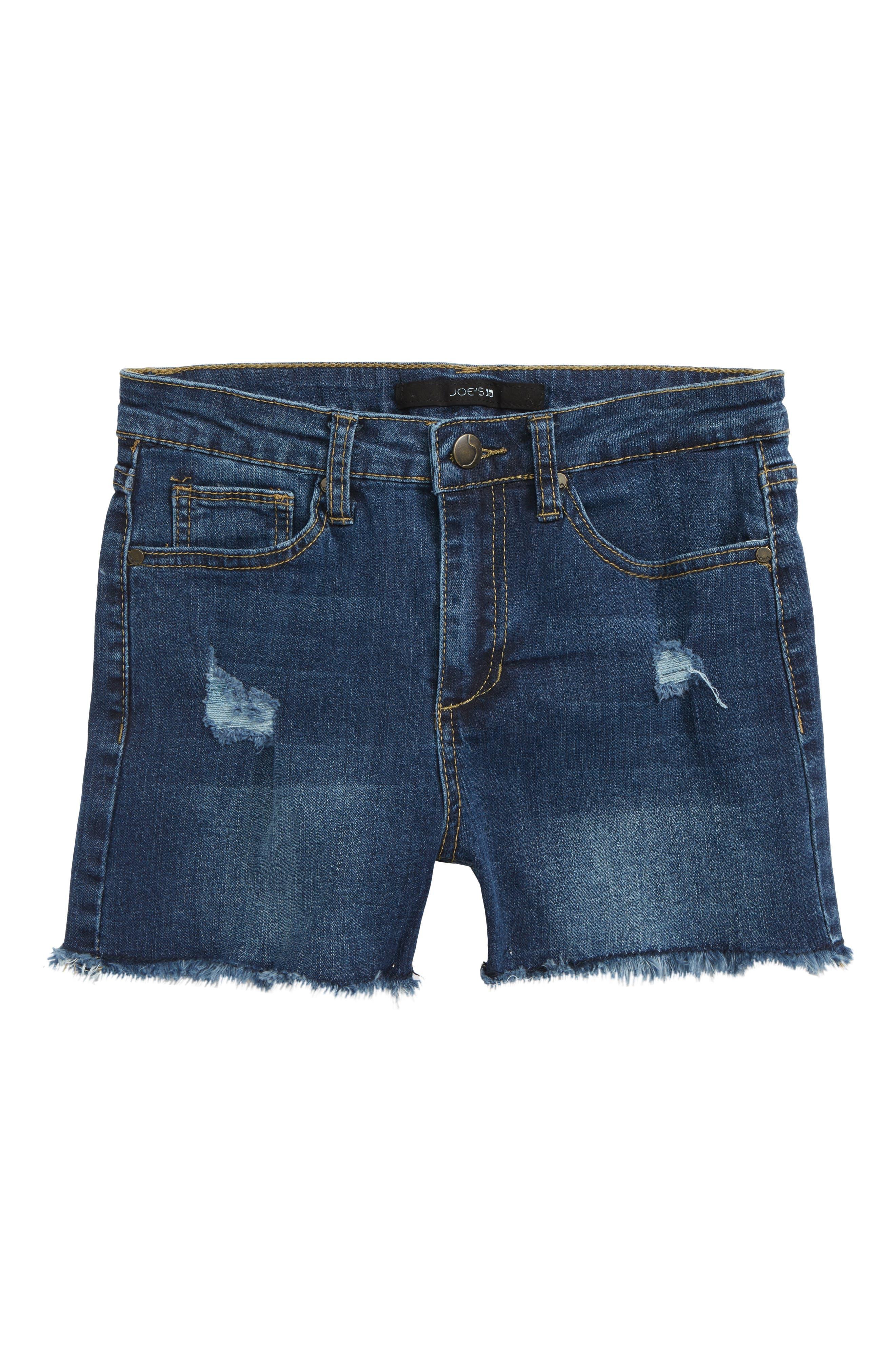 Charlie High Waist Cutoff Shorts,                         Main,                         color, 401