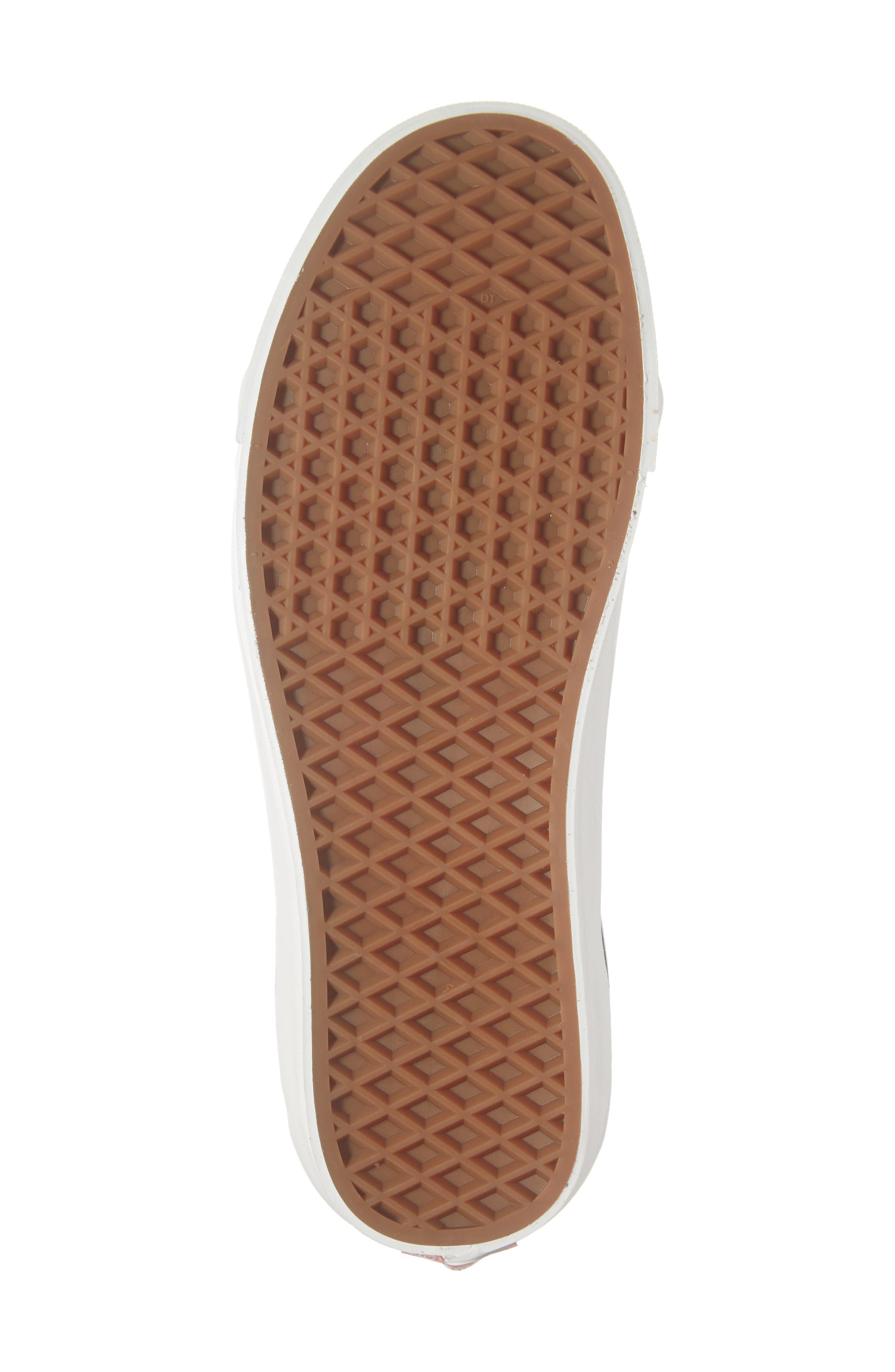 UA Sk8-Hi 38 DX Sneaker,                             Alternate thumbnail 6, color,                             DARK GREY/ WHITE