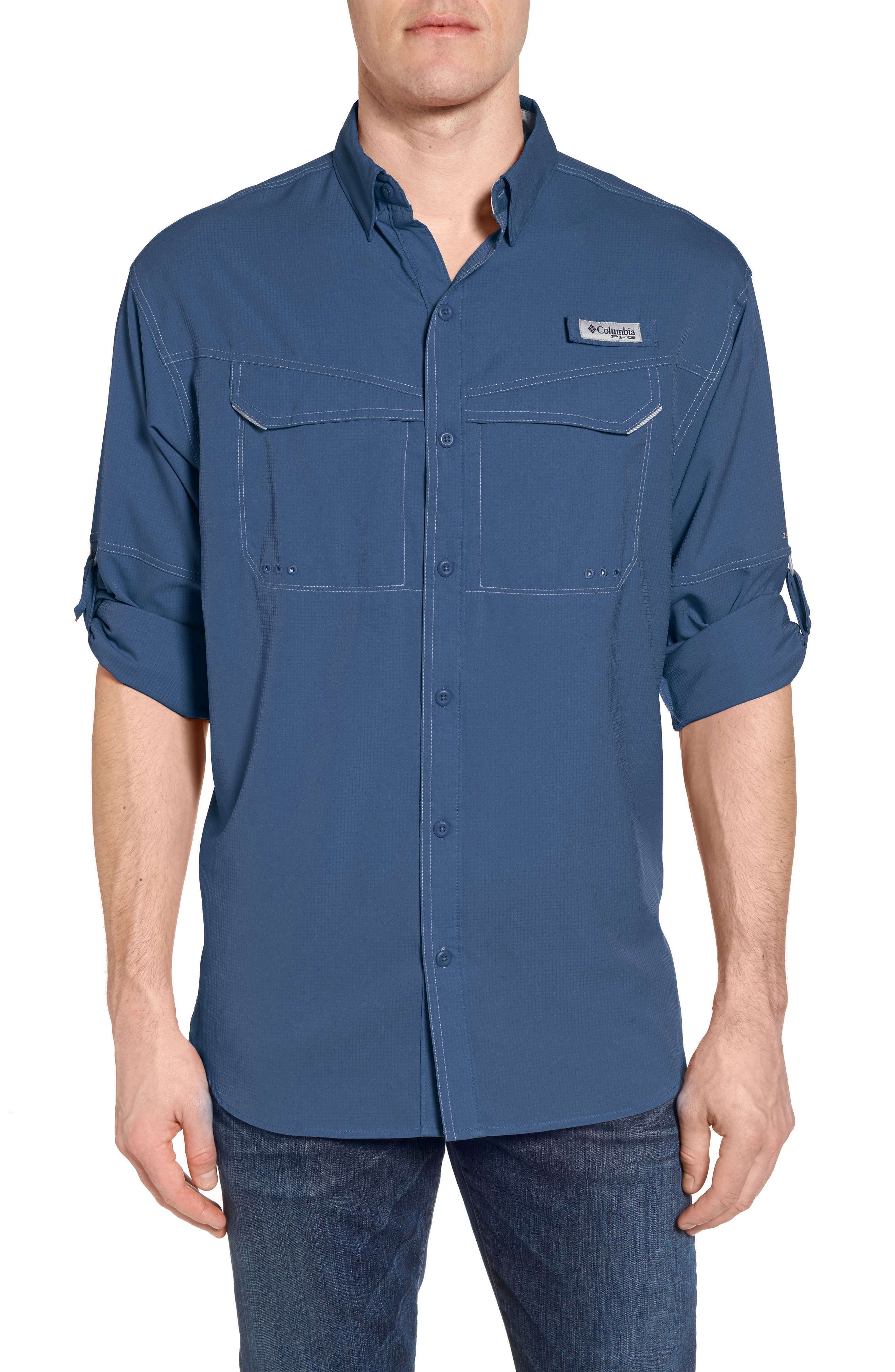 Low Drag Offshore Woven Shirt,                             Main thumbnail 4, color,