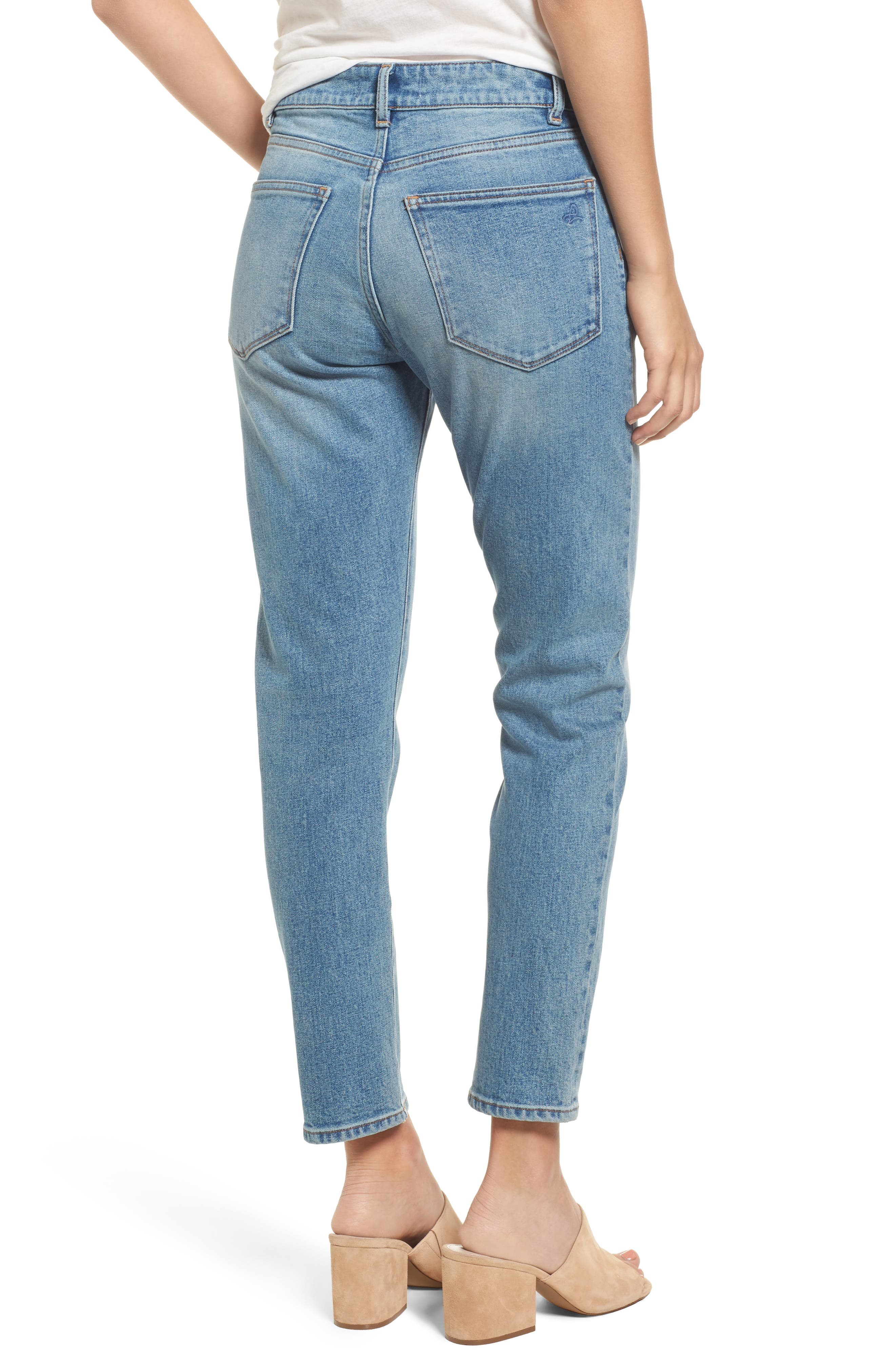 Bella High Waist Ankle Skinny Jeans,                             Alternate thumbnail 2, color,                             430