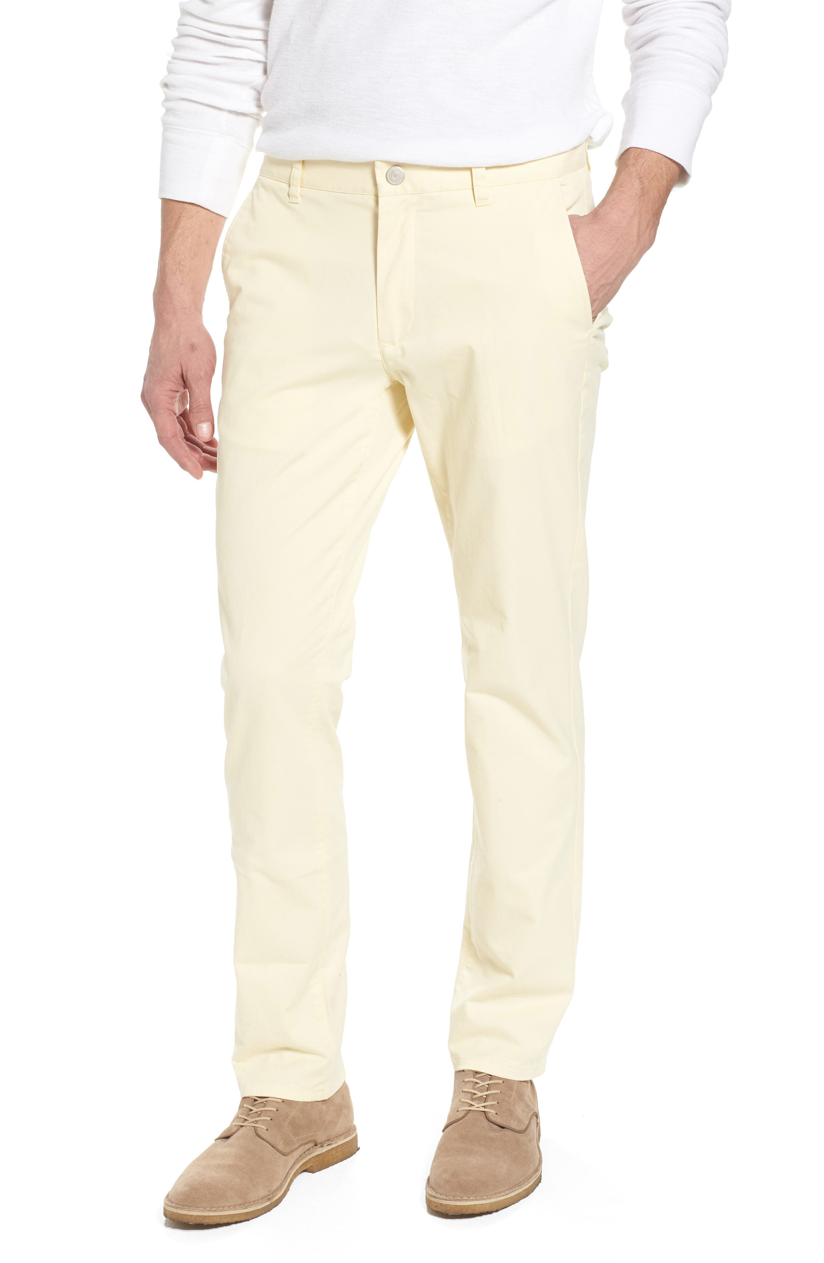 Tailored Fit Washed Stretch Cotton Chinos,                             Main thumbnail 20, color,