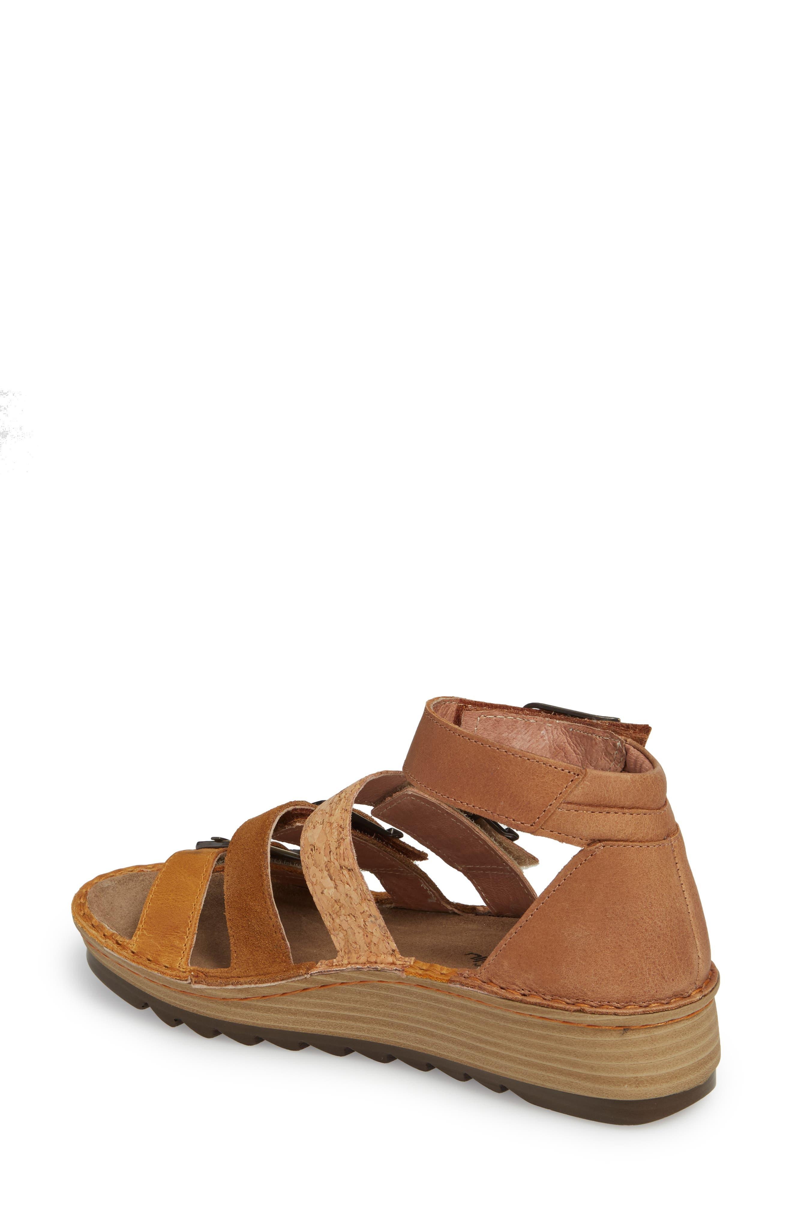 'Begonia' Sandal,                             Alternate thumbnail 2, color,                             OILY DUNE NUBUCK