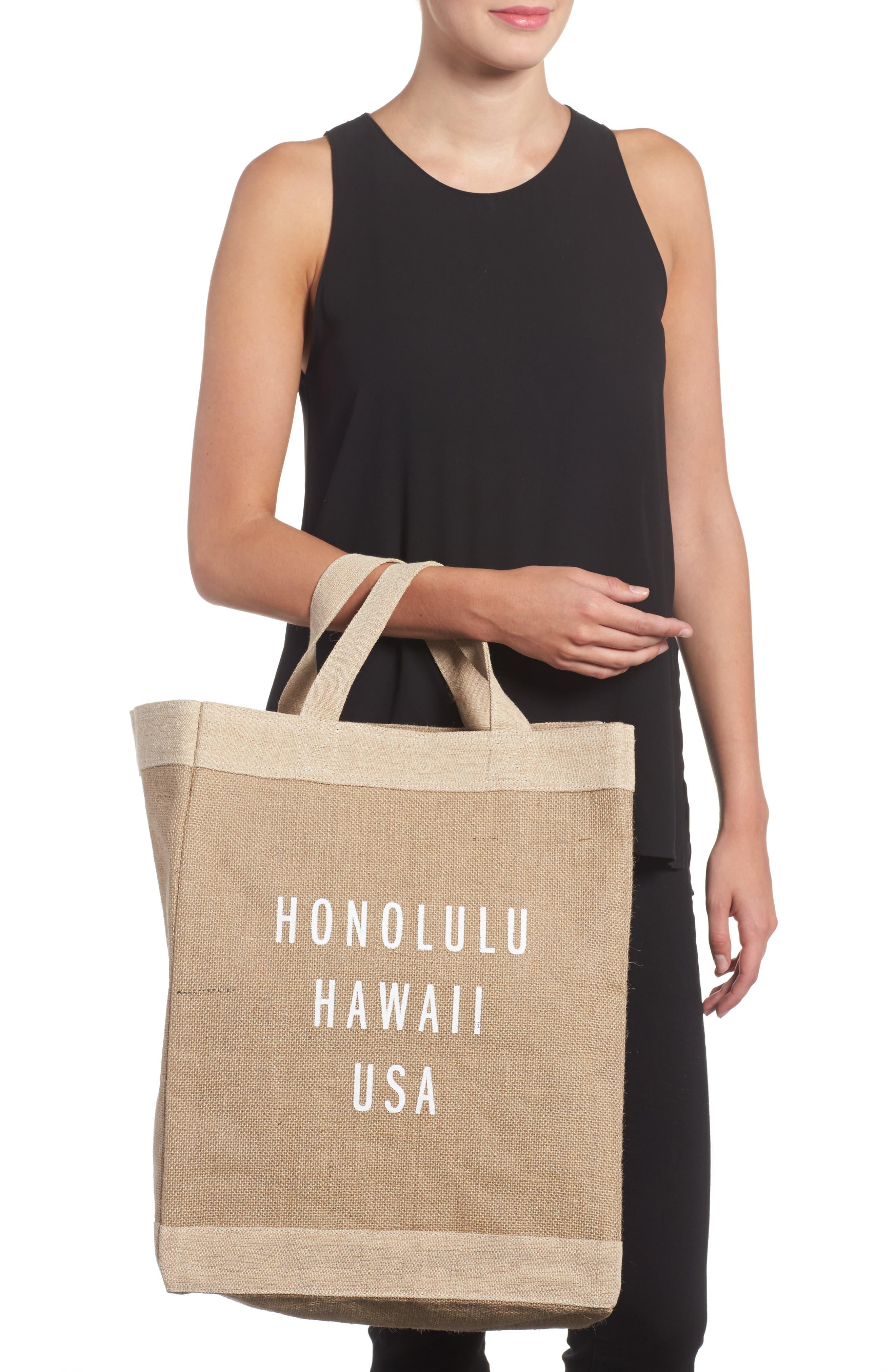 Honolulu Simple Market Bag,                             Alternate thumbnail 2, color,