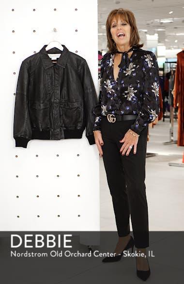 Leather Aviator Jacket, sales video thumbnail