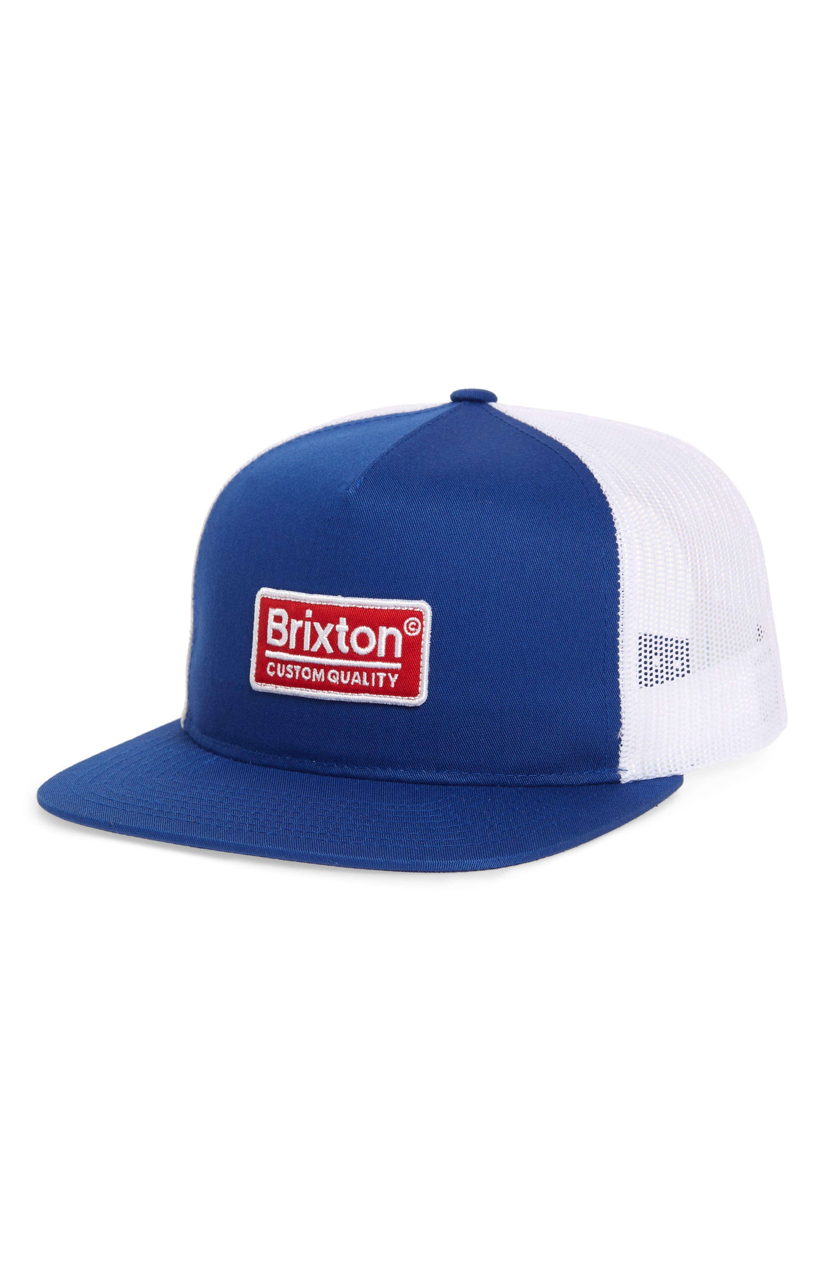 Mesh Back Cap,                         Main,                         color, ROYAL