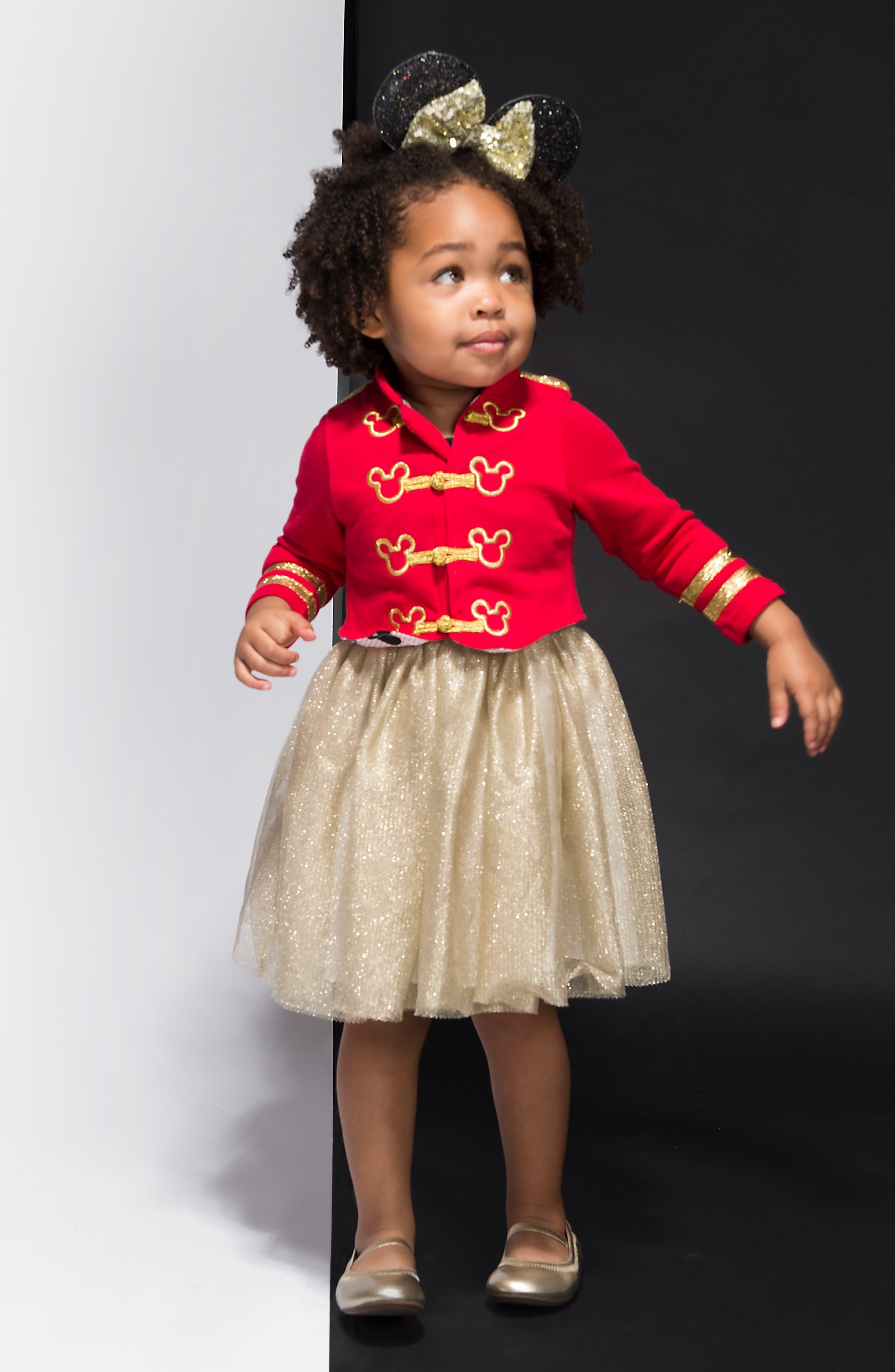 PIPPA & JULIE,                             x Disney<sup>®</sup> Mickey Mouse<sup>®</sup> Majorette Jacket & Tank Dress Set,                             Alternate thumbnail 7, color,                             643