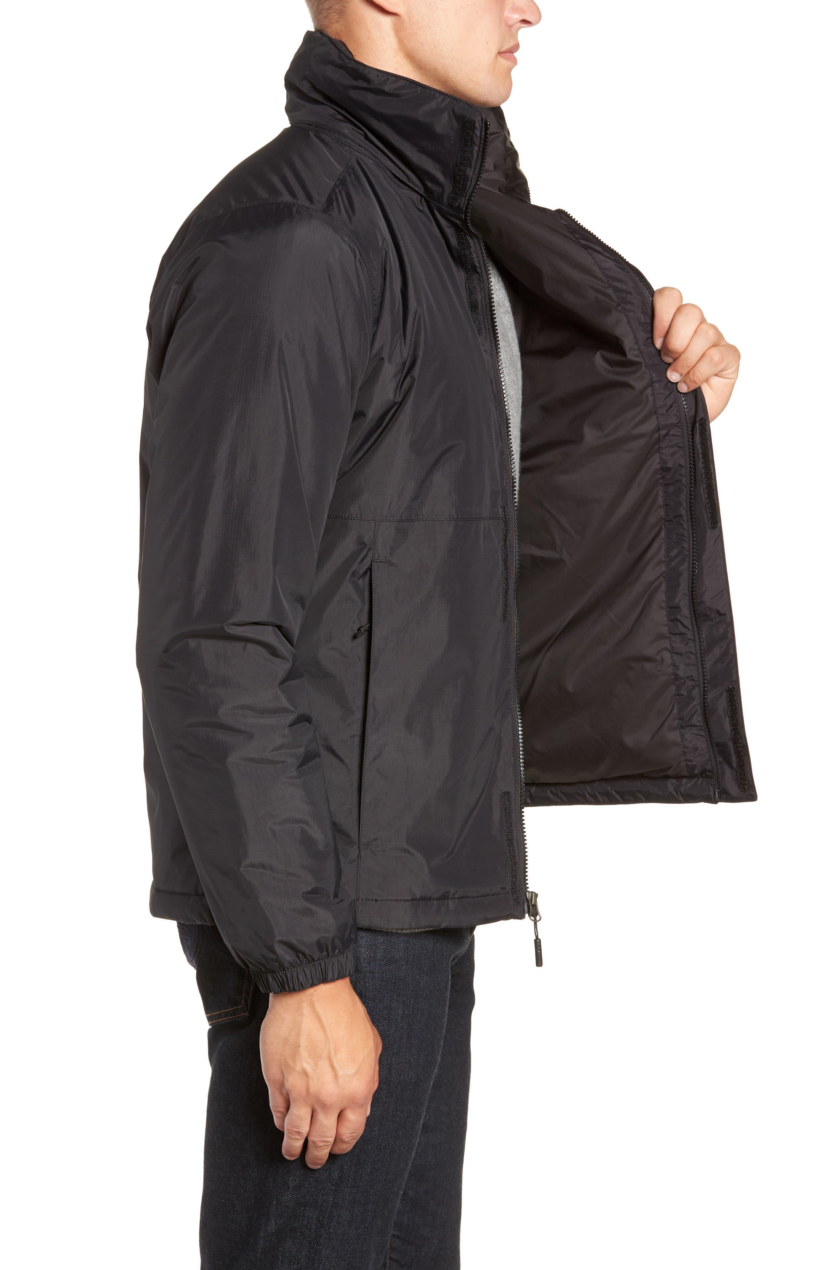 Resolve Waterproof Jacket,                             Alternate thumbnail 3, color,                             TNF BLACK