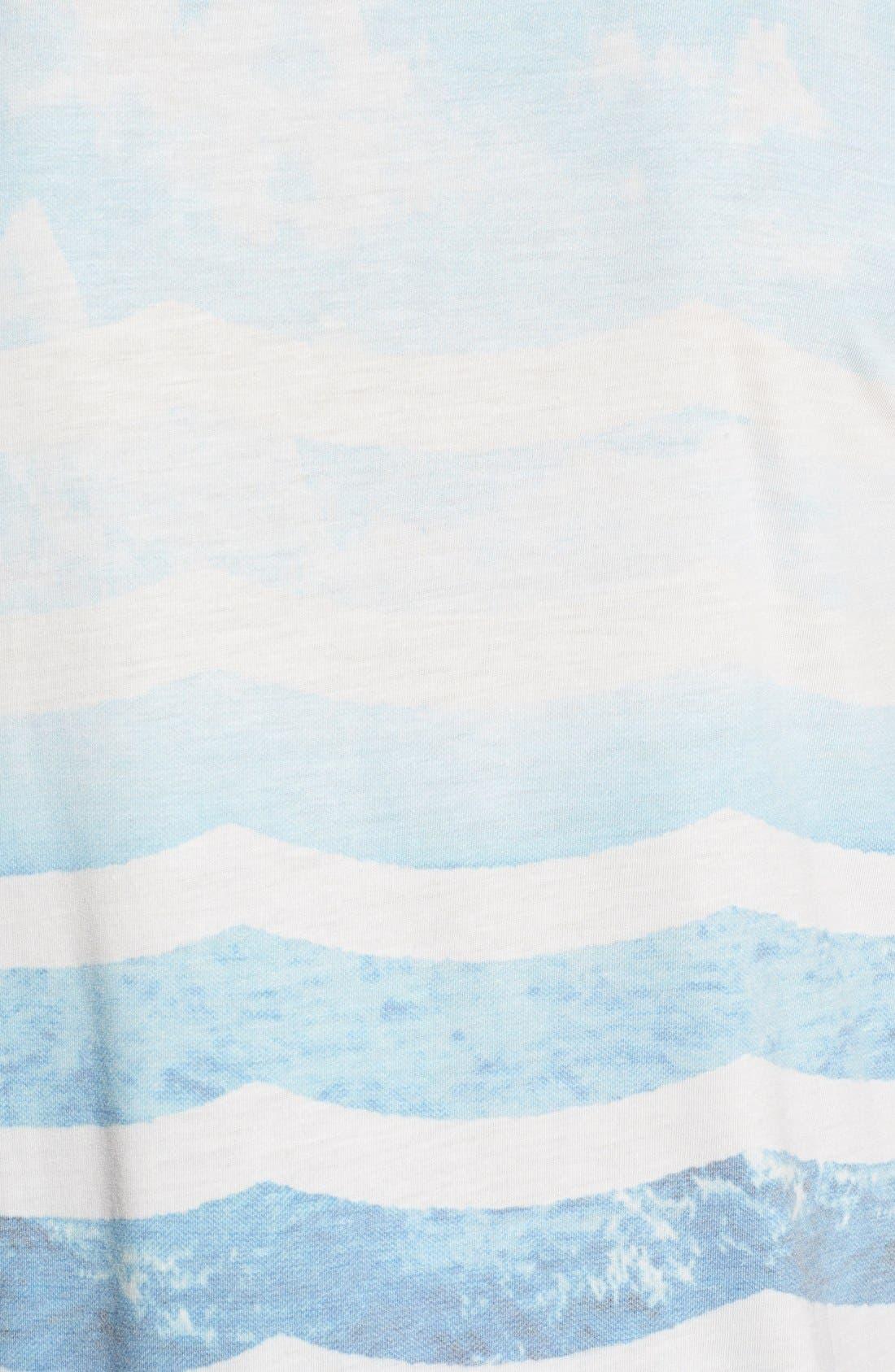 SOL ANGELES,                             'Marine Layer' V-Neck T-Shirt,                             Alternate thumbnail 4, color,                             482