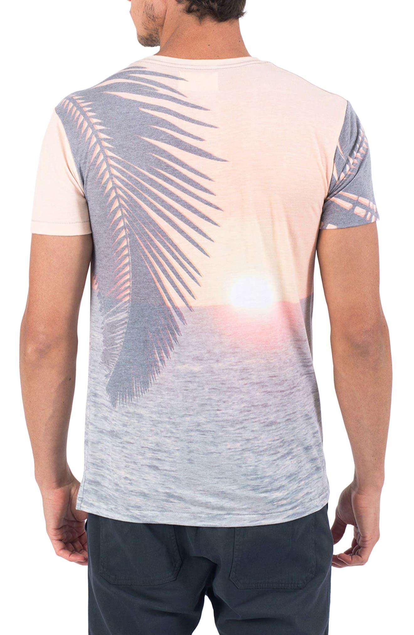 Sundown T-Shirt,                             Alternate thumbnail 2, color,                             020