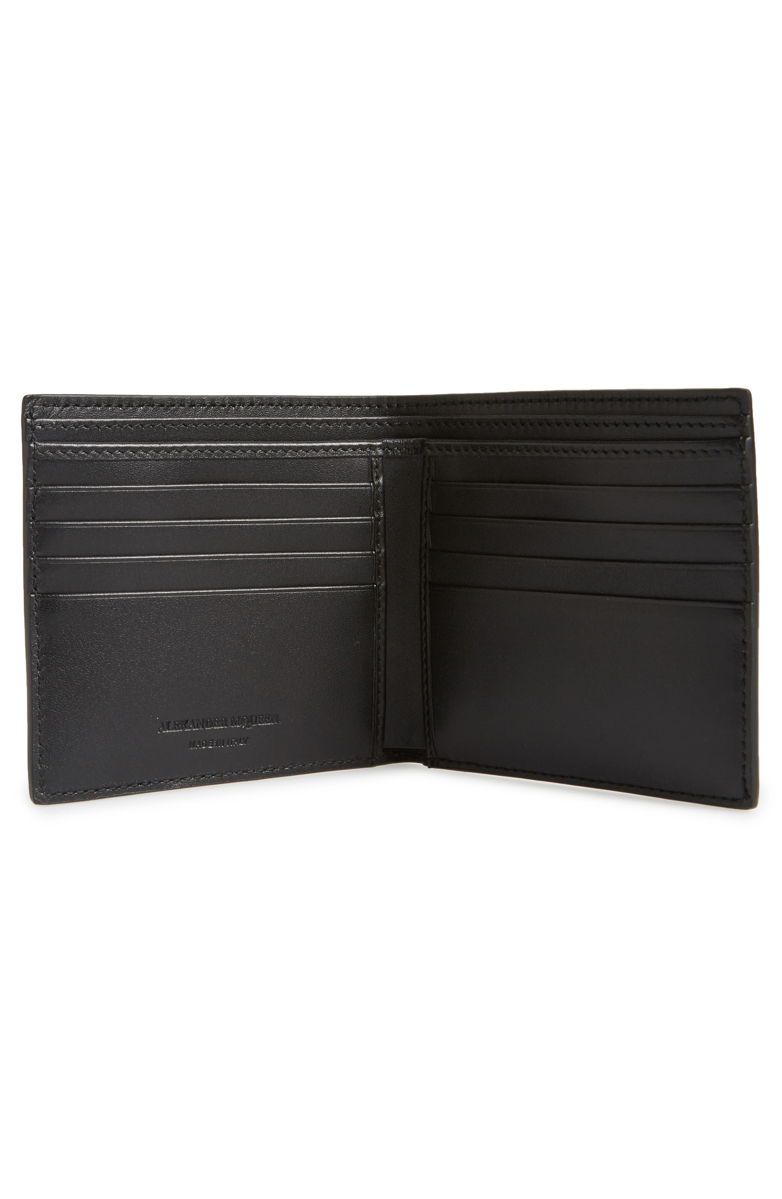 Camo Leather Billfold Wallet,                             Alternate thumbnail 2, color,                             009