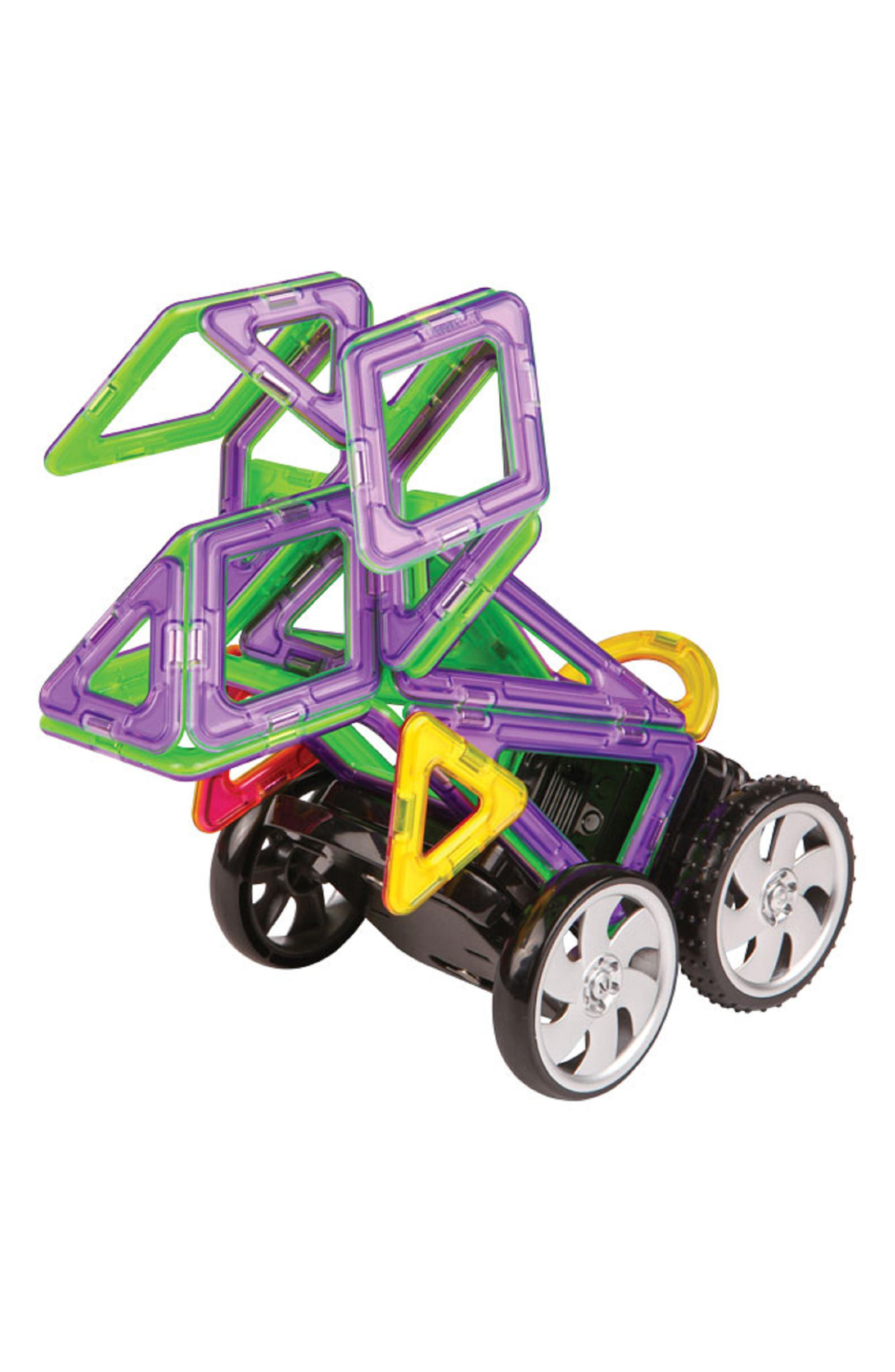 'Zoo Racing' Magnetic Remote Control Vehicle Construction Set,                             Alternate thumbnail 2, color,                             Rainbow