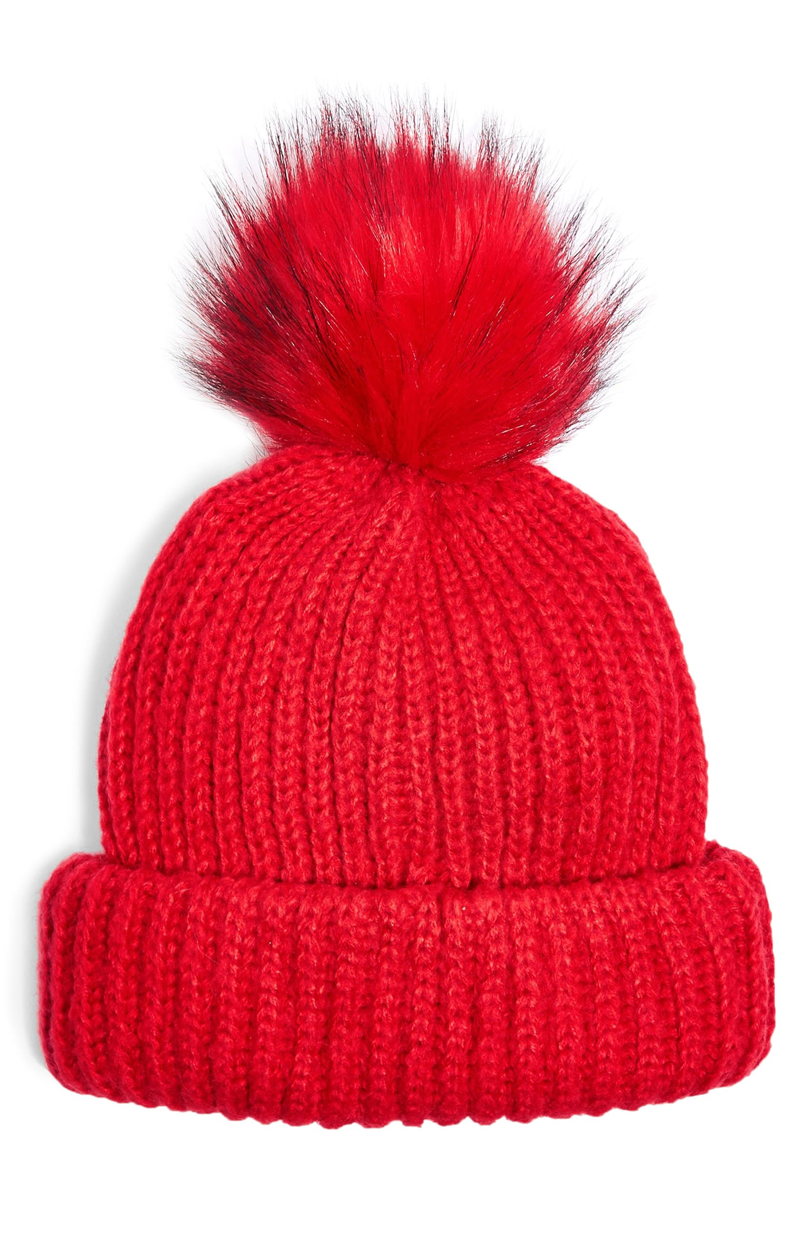 8cc9979bea5 Topshop Faux Fur Pompom Beanie