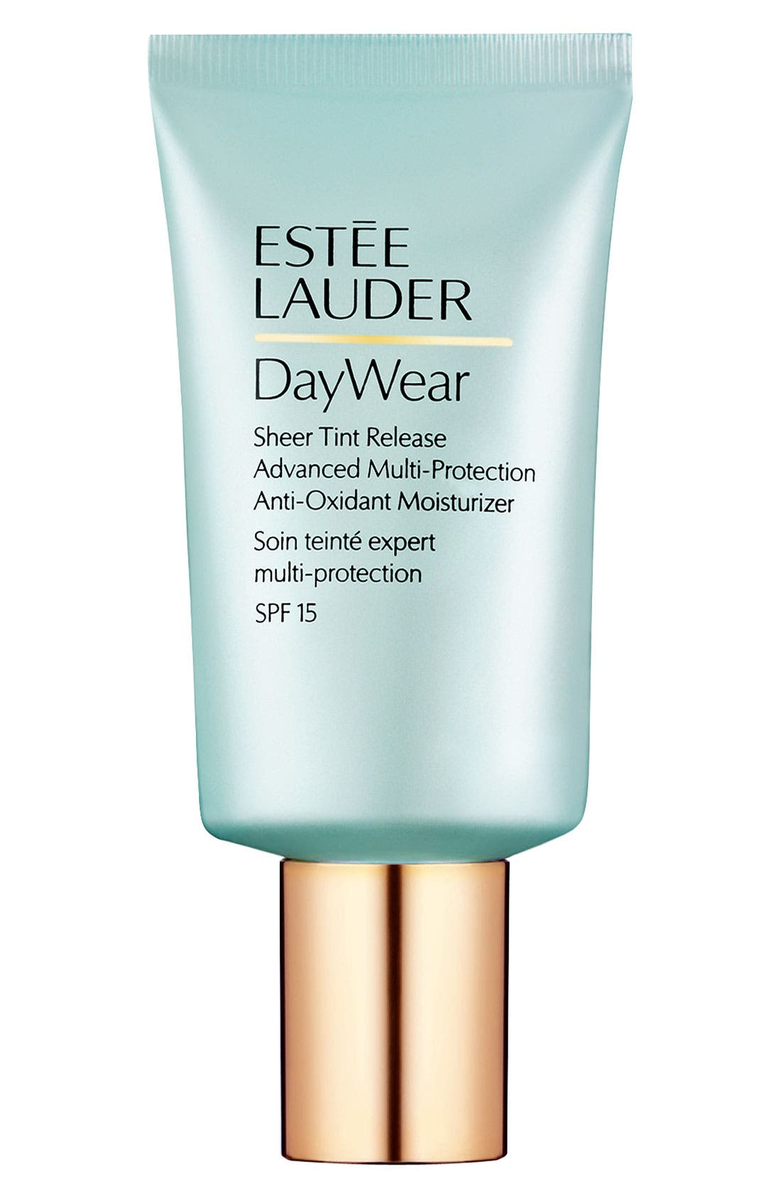 DayWear Sheer Tint Release Advanced Multi-Protection Anti-Oxidant Moisturizer SPF 15,                             Main thumbnail 1, color,                             NO COLOR