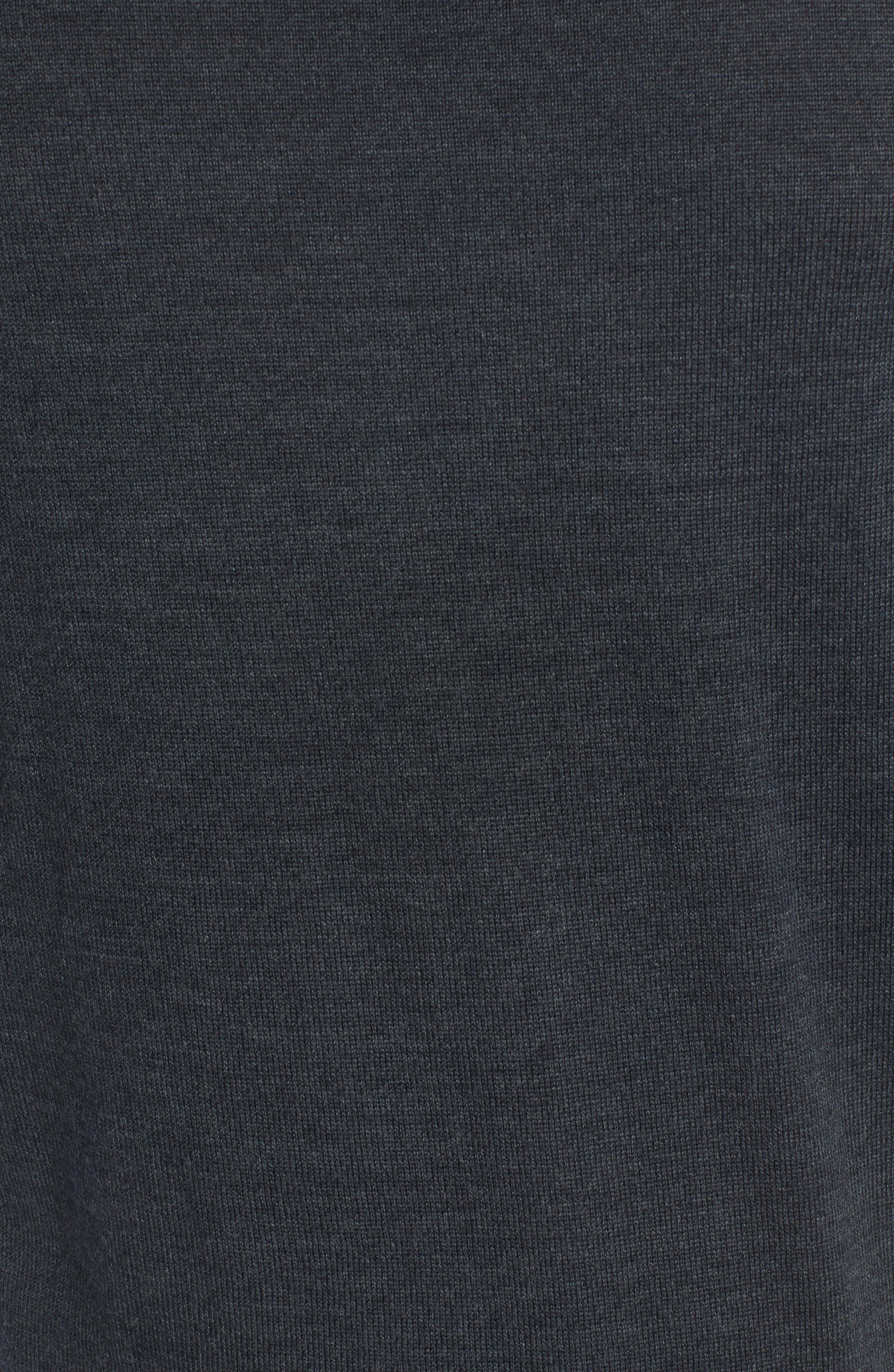 Merino V-Neck Sweater,                             Alternate thumbnail 5, color,                             020