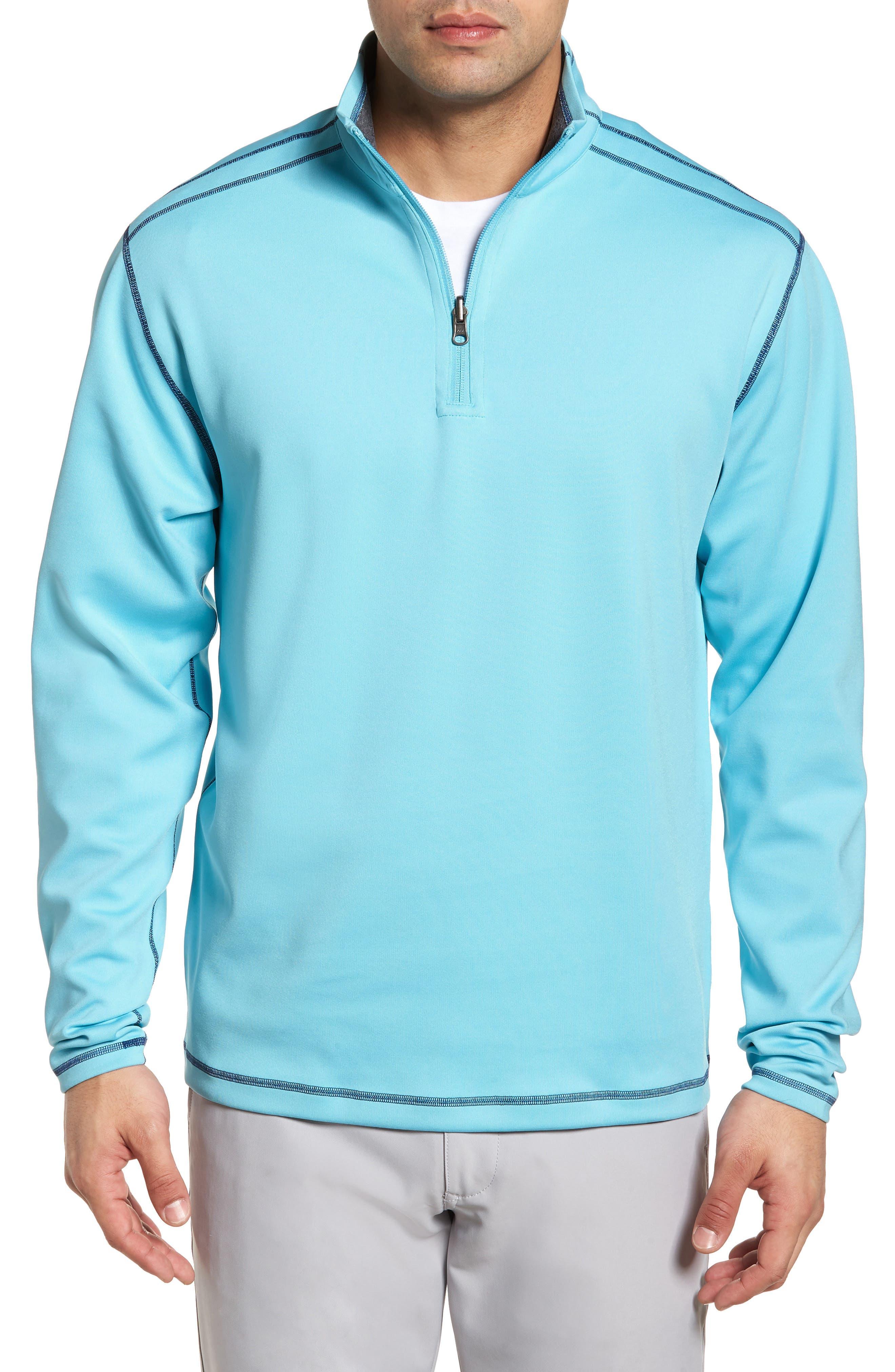 Evergreen Classic Fit DryTec Reversible Half Zip Pullover,                             Main thumbnail 1, color,                             473