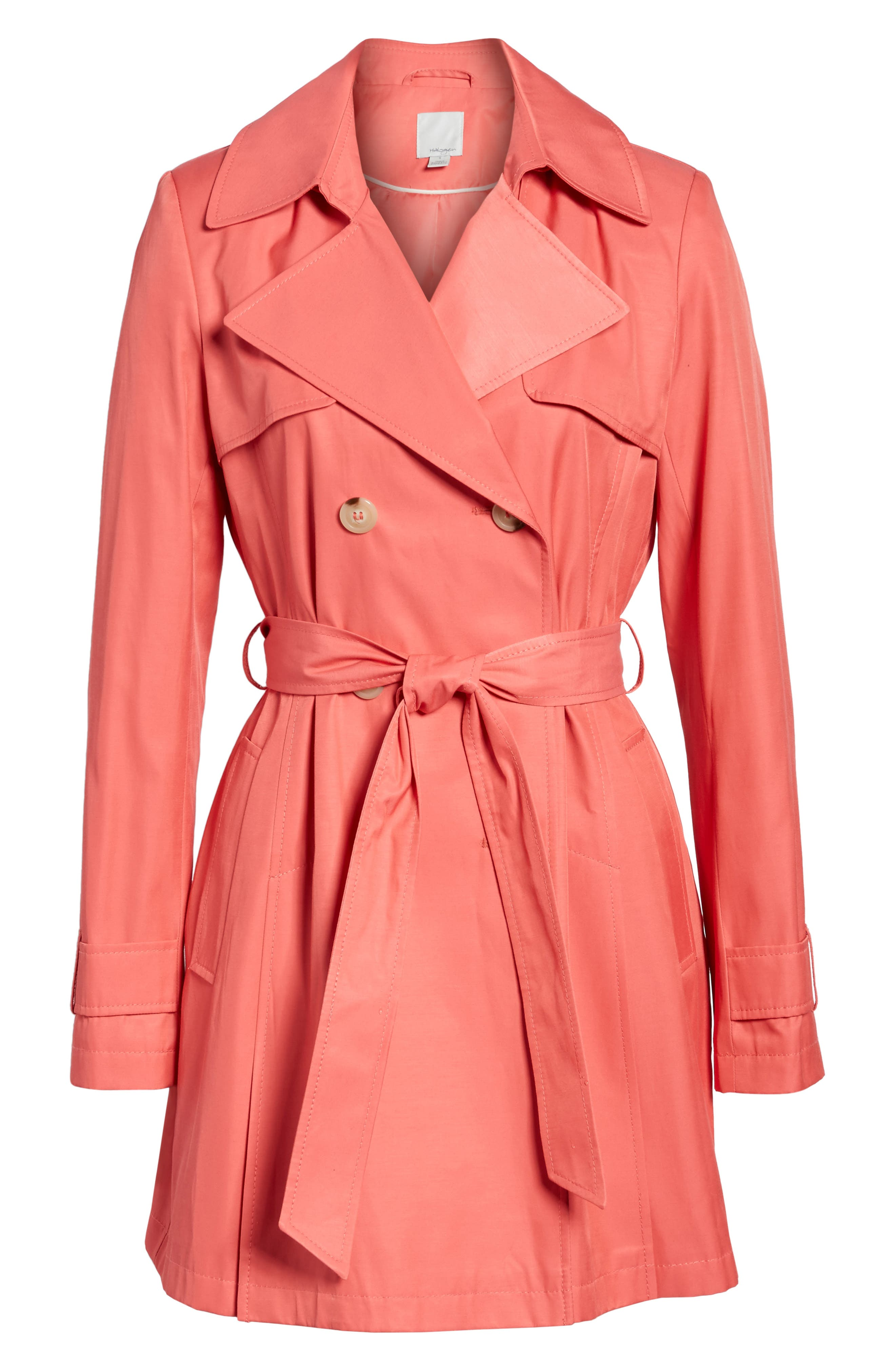 Detachable Hood Trench Coat,                             Alternate thumbnail 39, color,