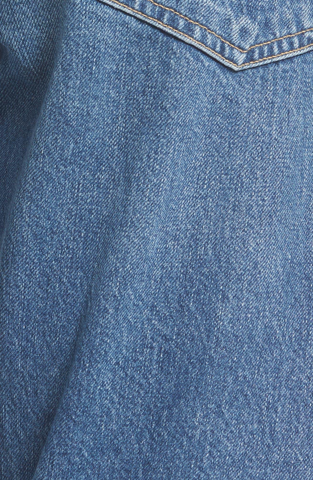 Emerson Slim Boyfriend Jeans,                             Alternate thumbnail 5, color,                             425