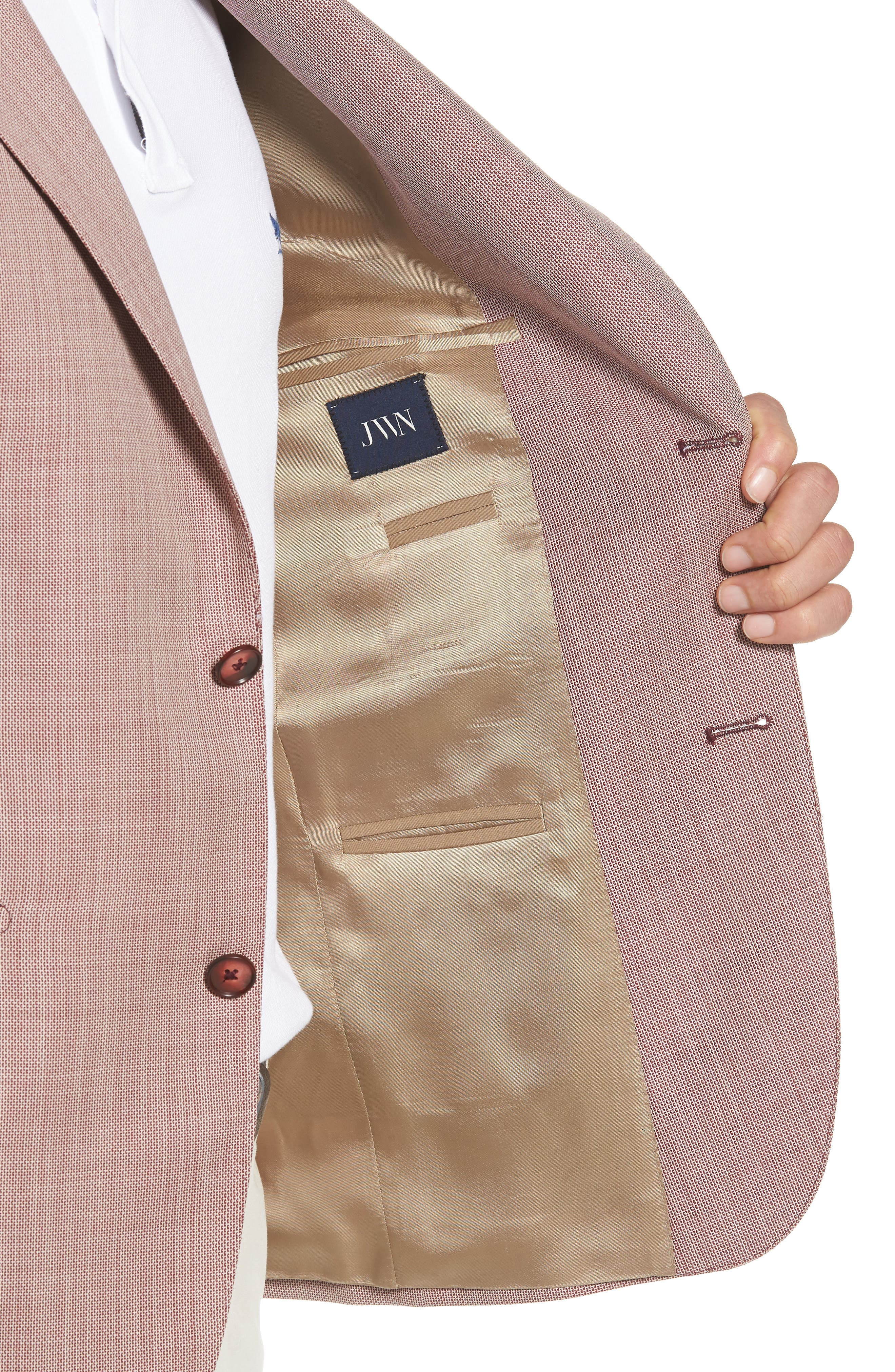 Traditional Fit Wool Sport Coat,                             Alternate thumbnail 4, color,                             610