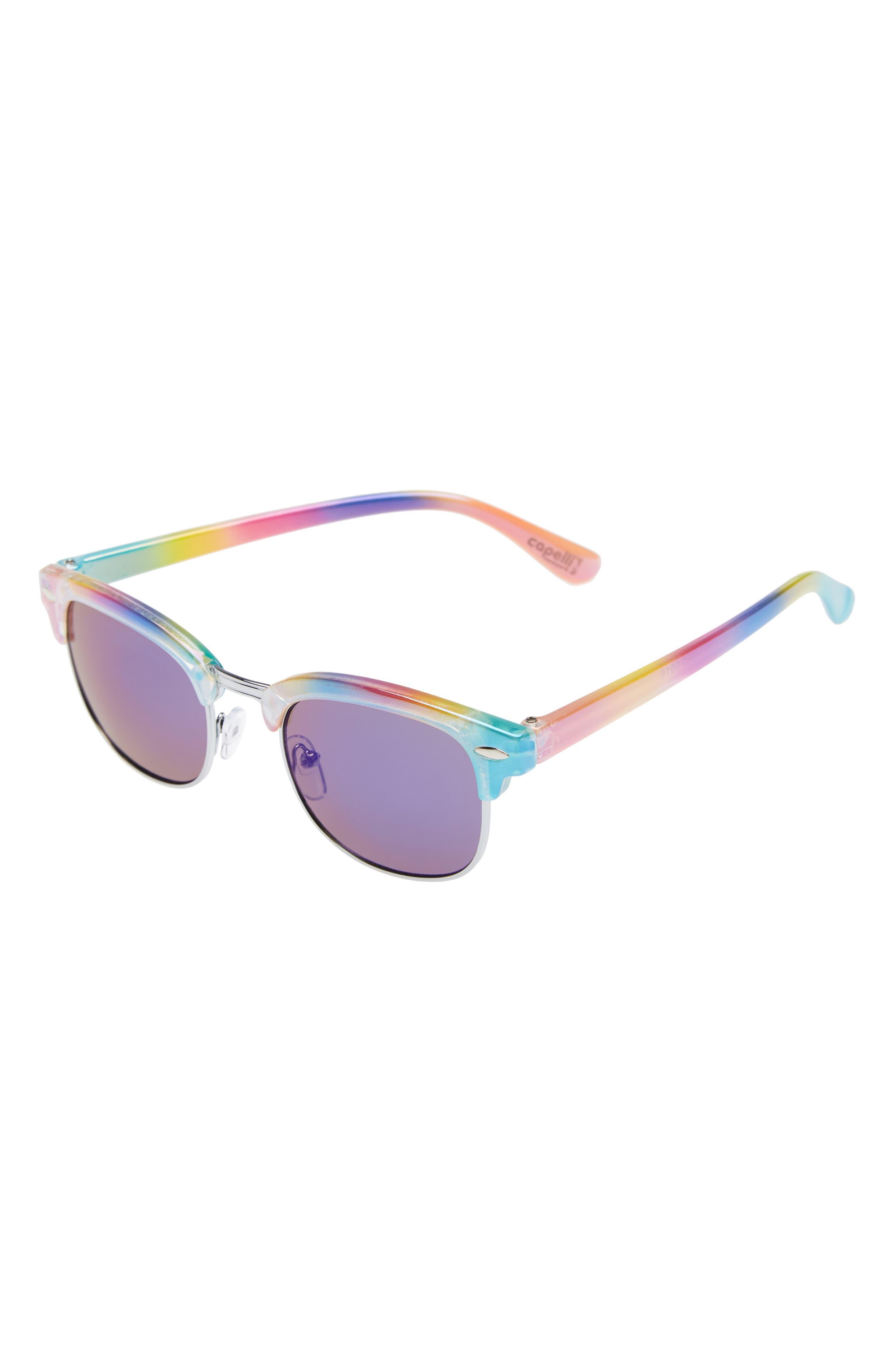 Capelli of New York Retro Sunglasses,                             Main thumbnail 1, color,                             650