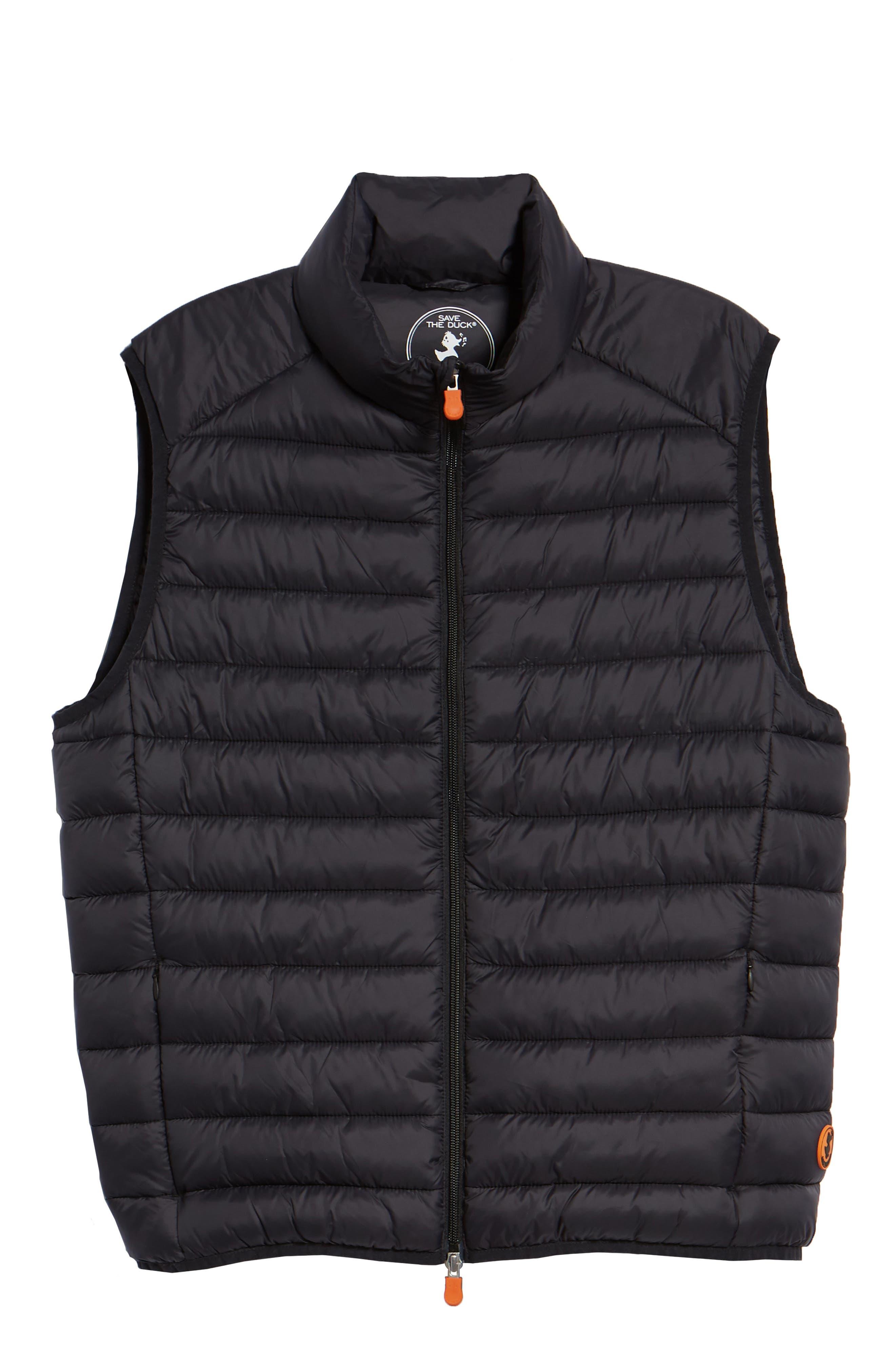 Lightweight Packable Vest,                             Alternate thumbnail 6, color,                             BLACK