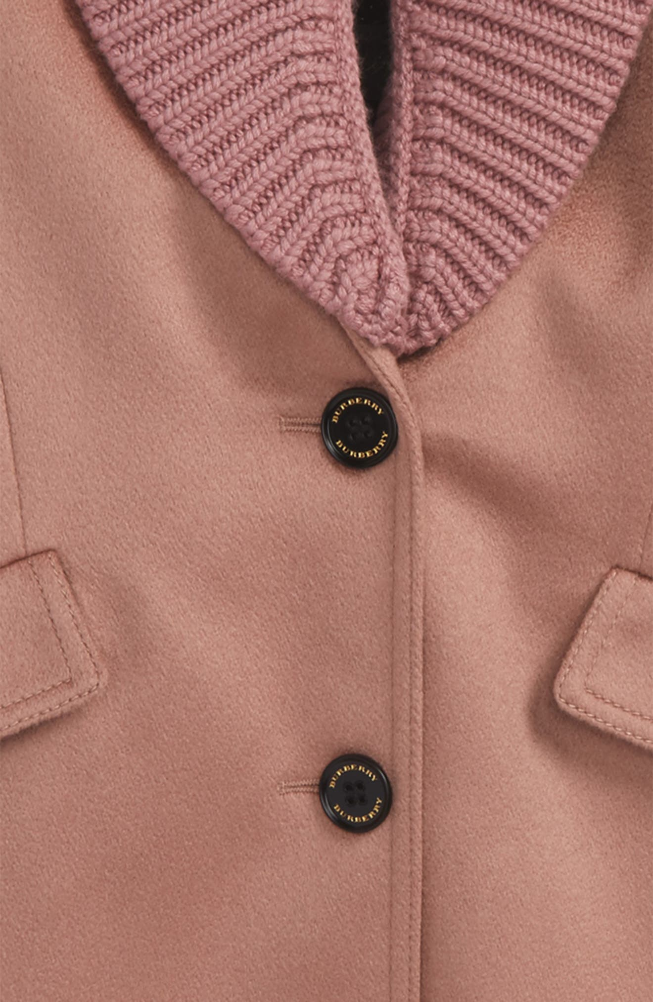 Bridget Shawl Collar Cashmere Coat,                             Alternate thumbnail 2, color,                             650