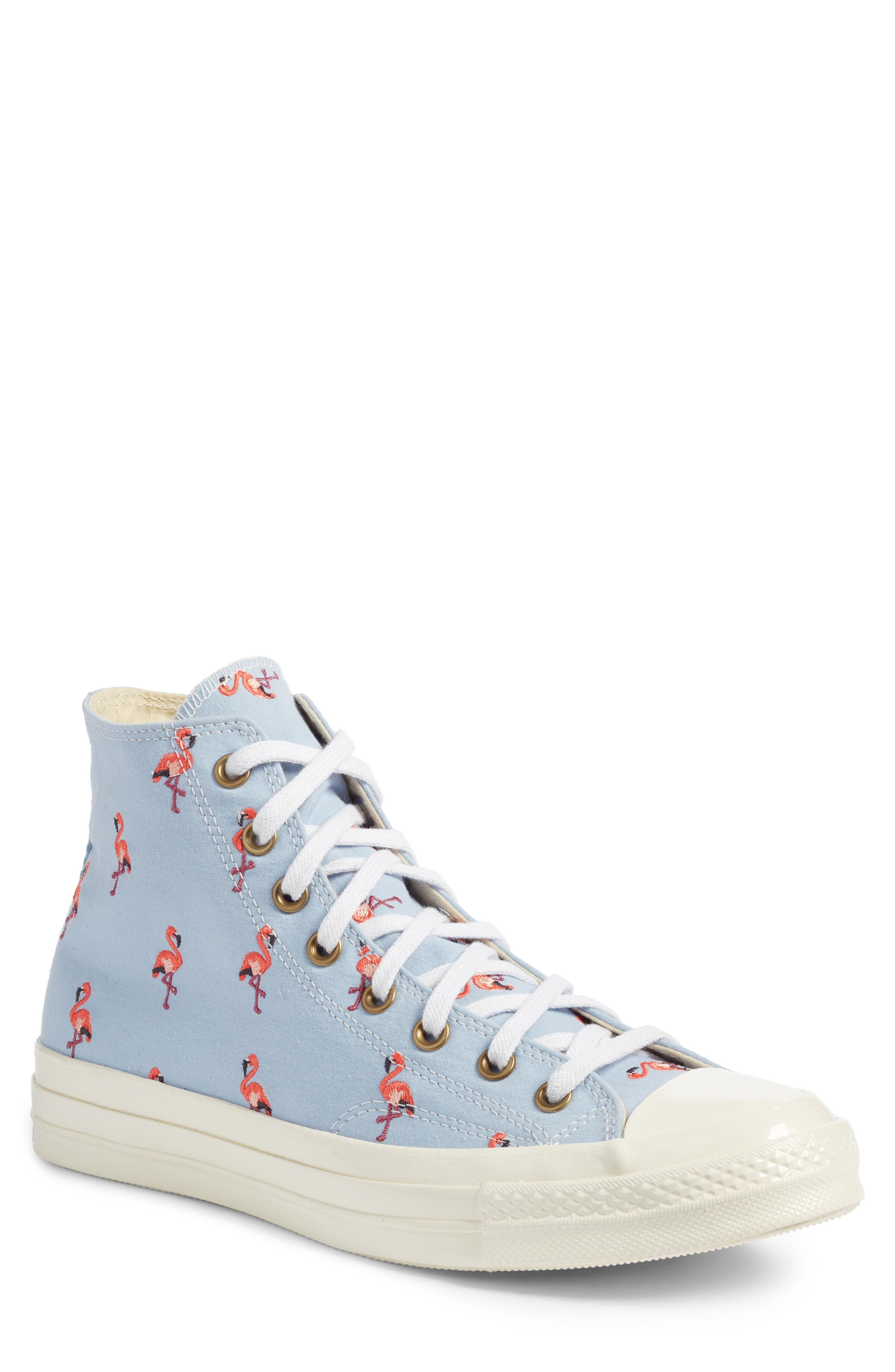 Chuck Taylor<sup>®</sup> All Star<sup>®</sup> Chuck 70 Flamingo Sneaker,                         Main,                         color, 457