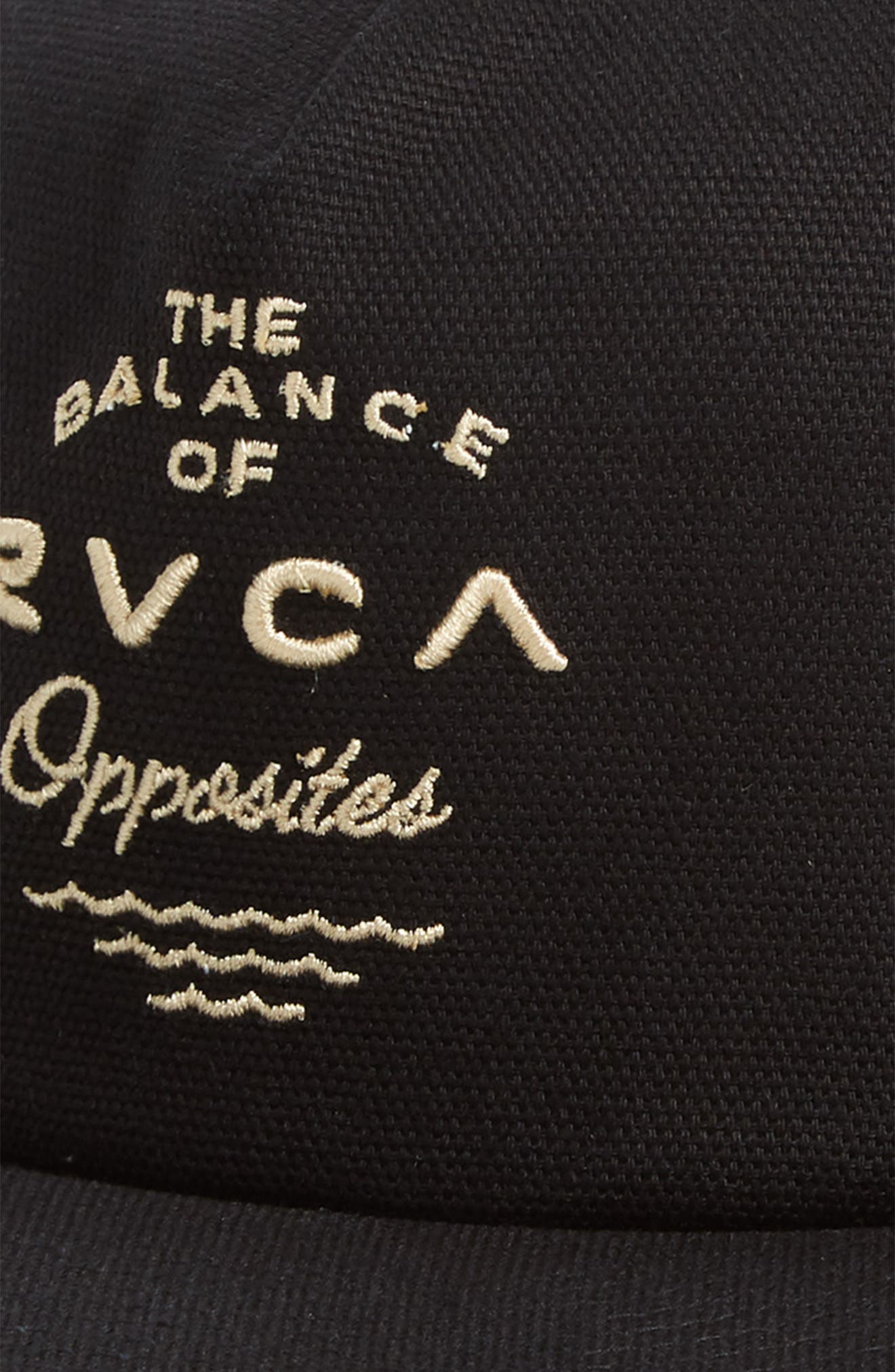 RVCA,                             If Snapback Hat,                             Alternate thumbnail 3, color,                             001