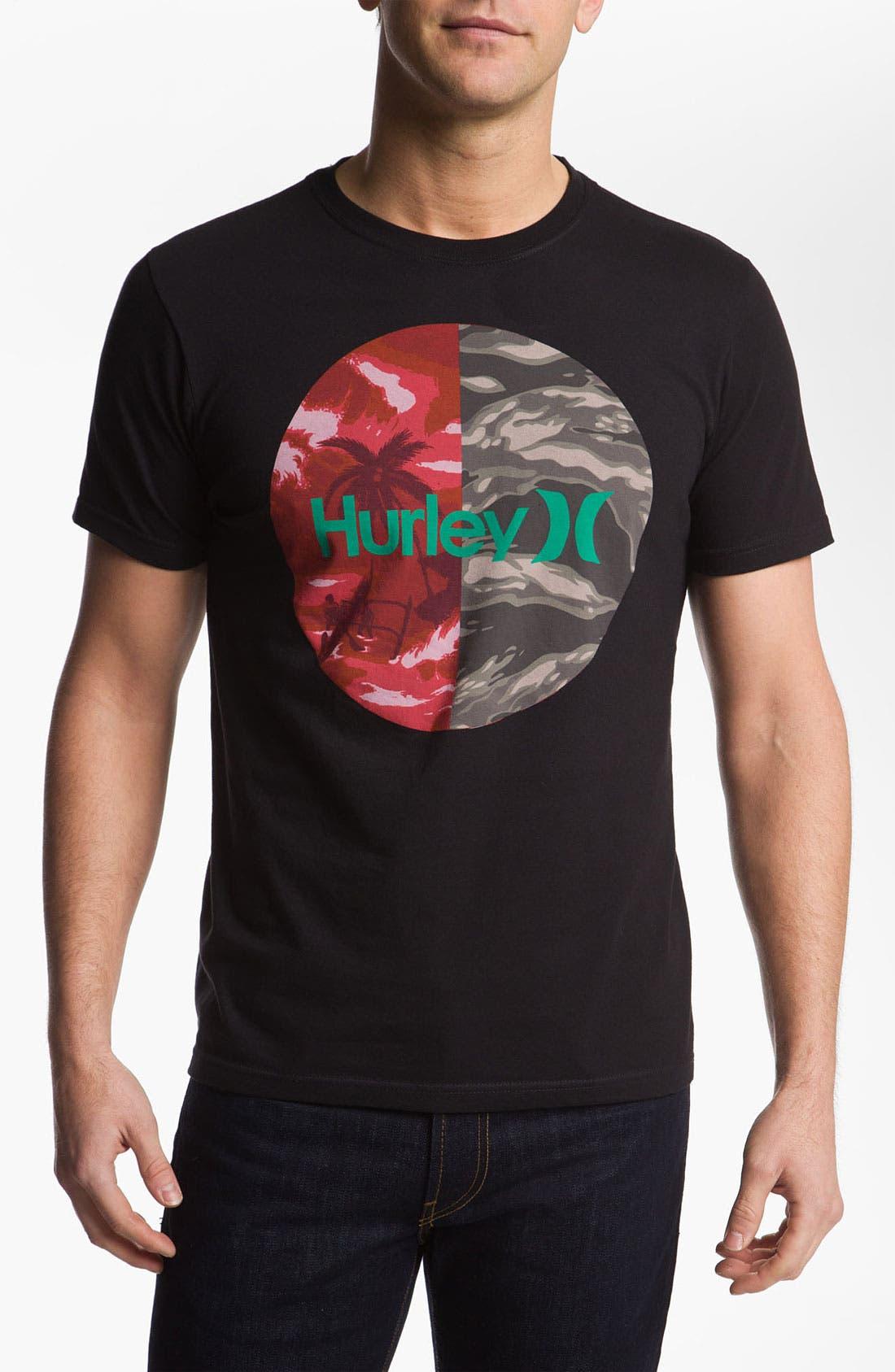 'Krush Flamo' T-Shirt,                             Main thumbnail 1, color,                             001