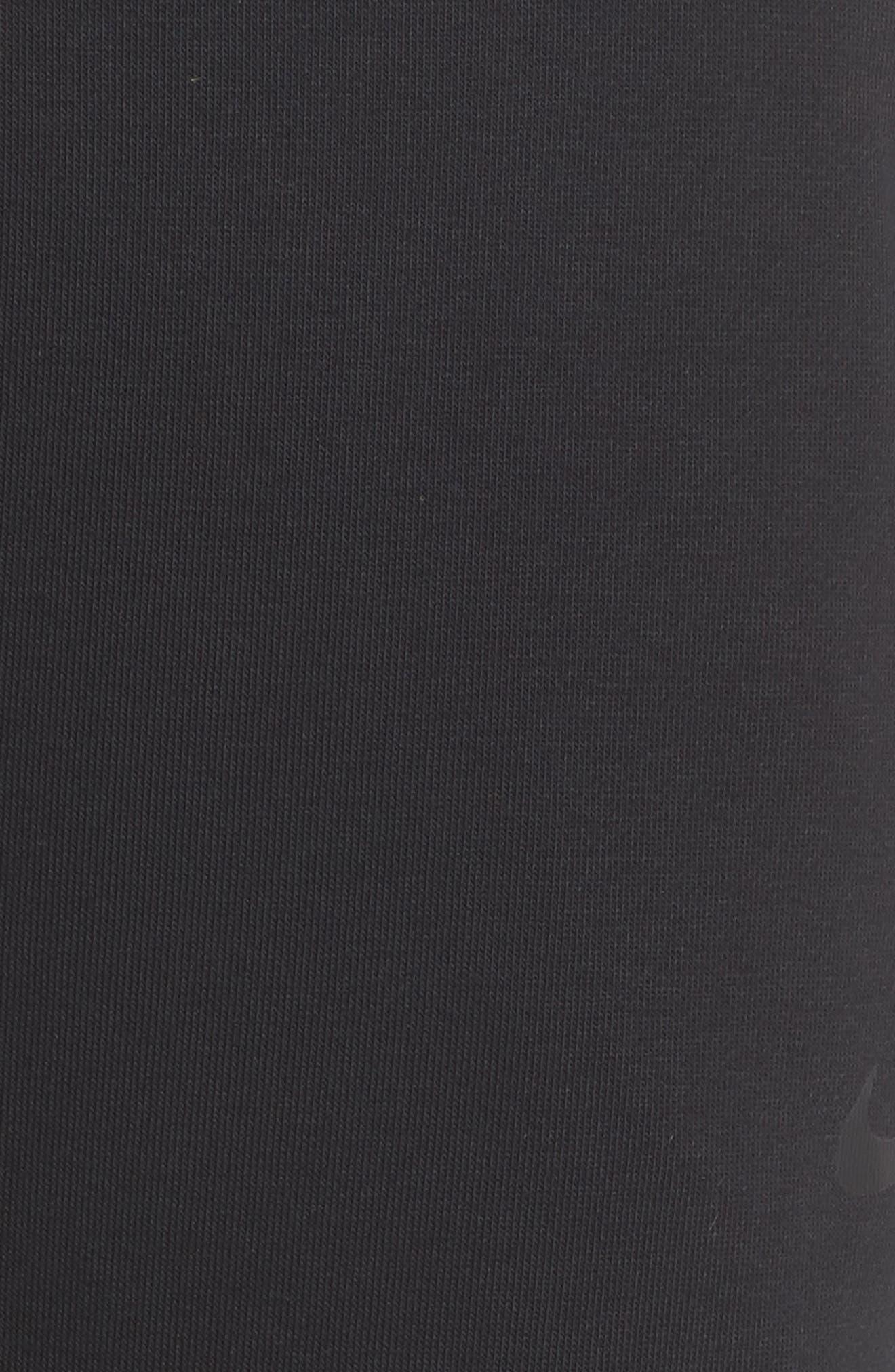 Tapered Training Pants,                             Alternate thumbnail 6, color,                             BLACK/ BLACK